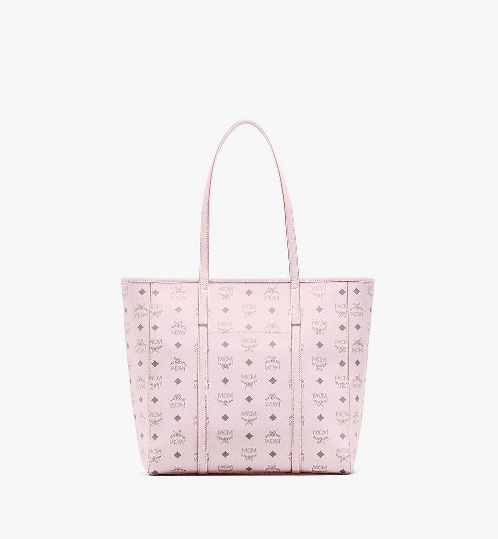 MCM Toni Shopper in Visetos Pink MWPAATN03QH001 Alternate View 3
