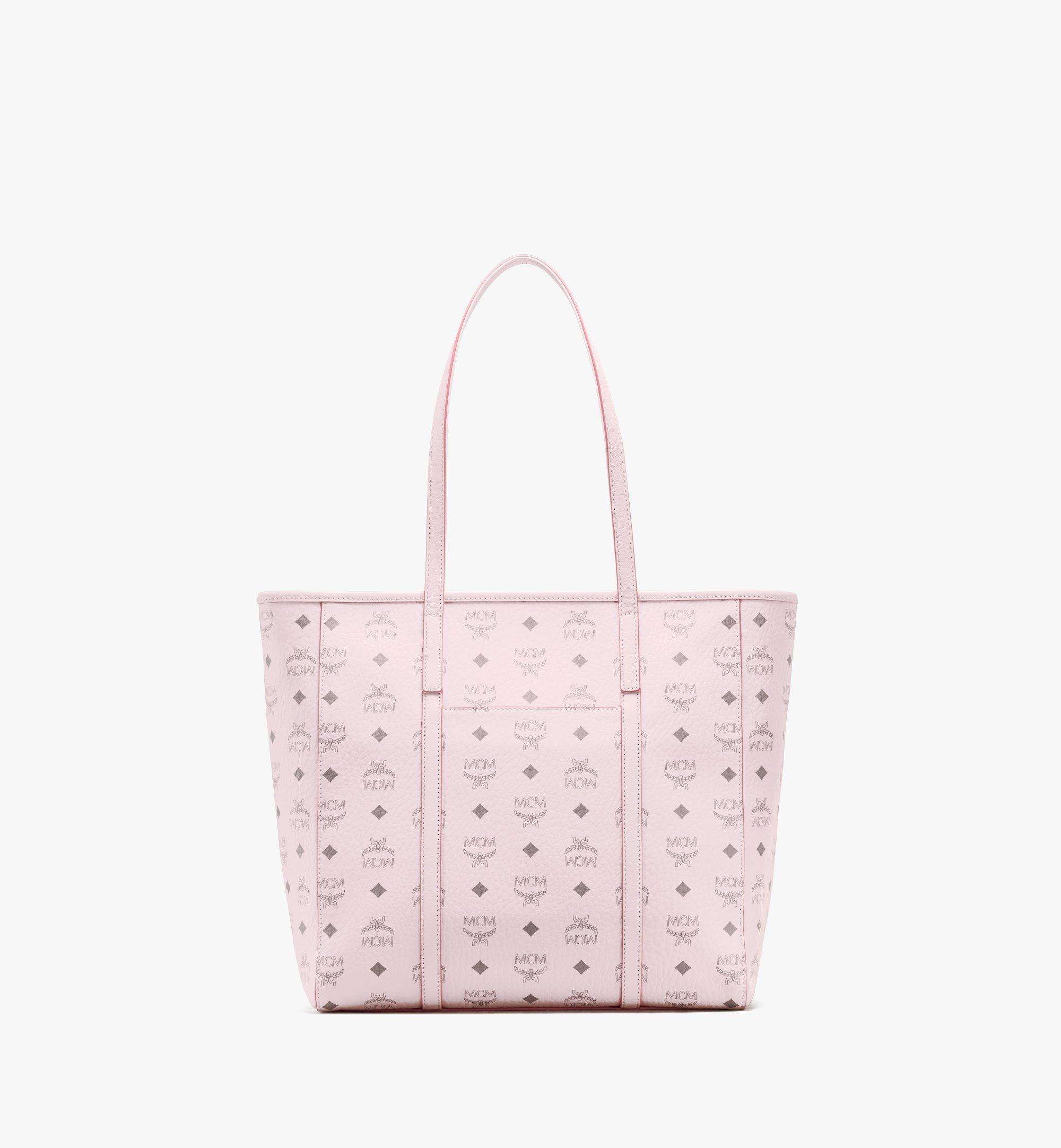 MCM Toni Shopper in Visetos Pink MWPAATN03QH001 Alternate View 4