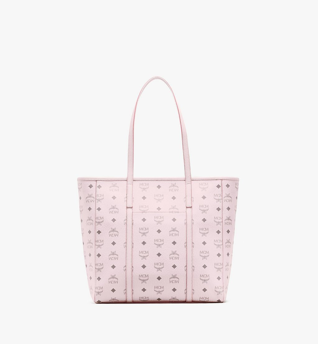 MCM Toni Shopper in Visetos Pink MWPAATN03QH001 Alternate View 3