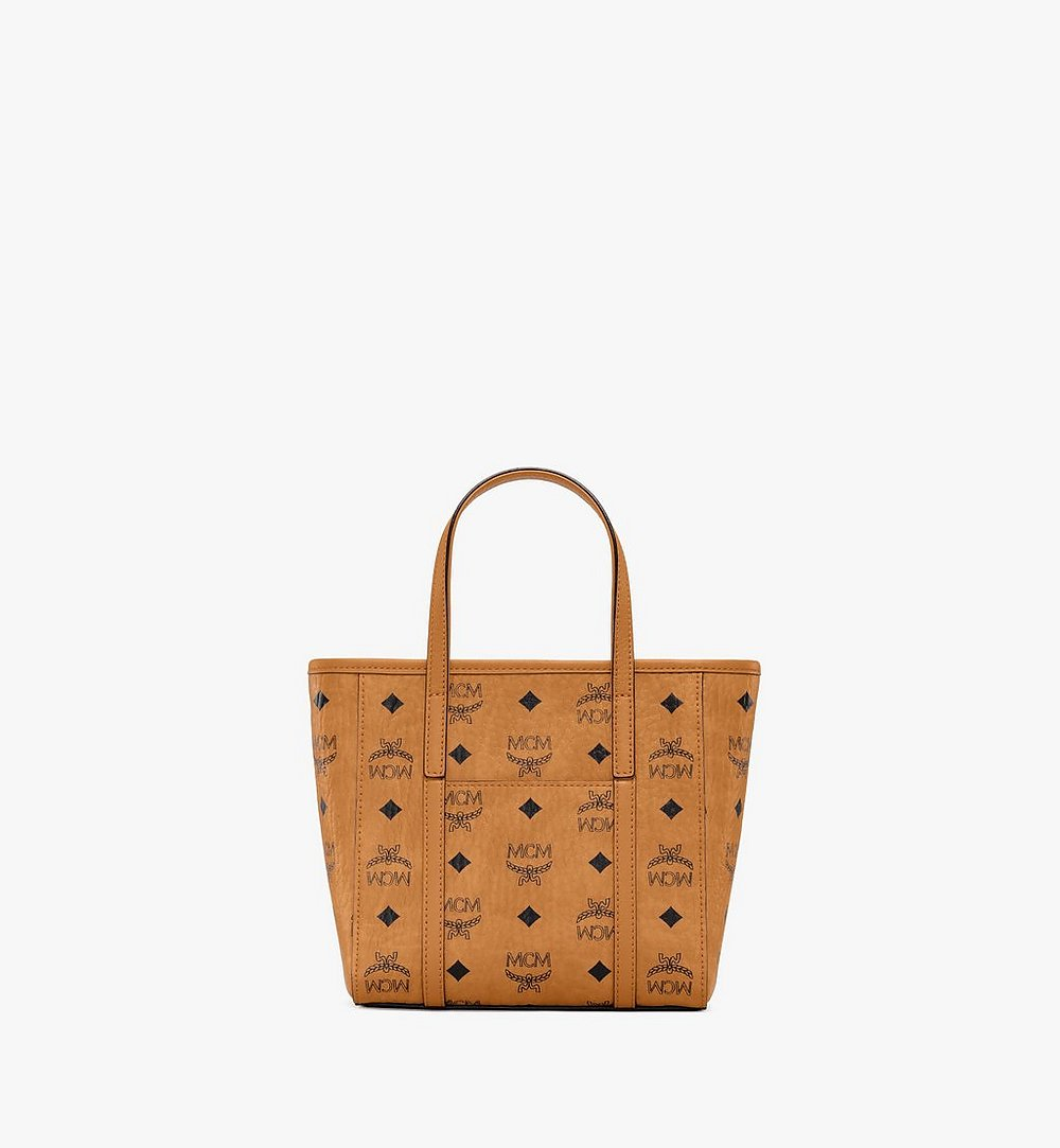 MCM Toni Visetos购物袋 Cognac MWPAATN04CO001 更多视角 3