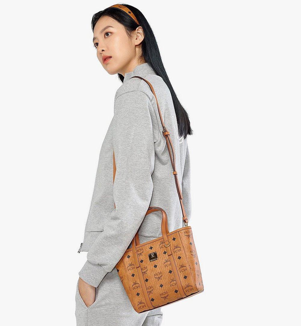 MCM Toni Visetos购物袋 Cognac MWPAATN04CO001 更多视角 4