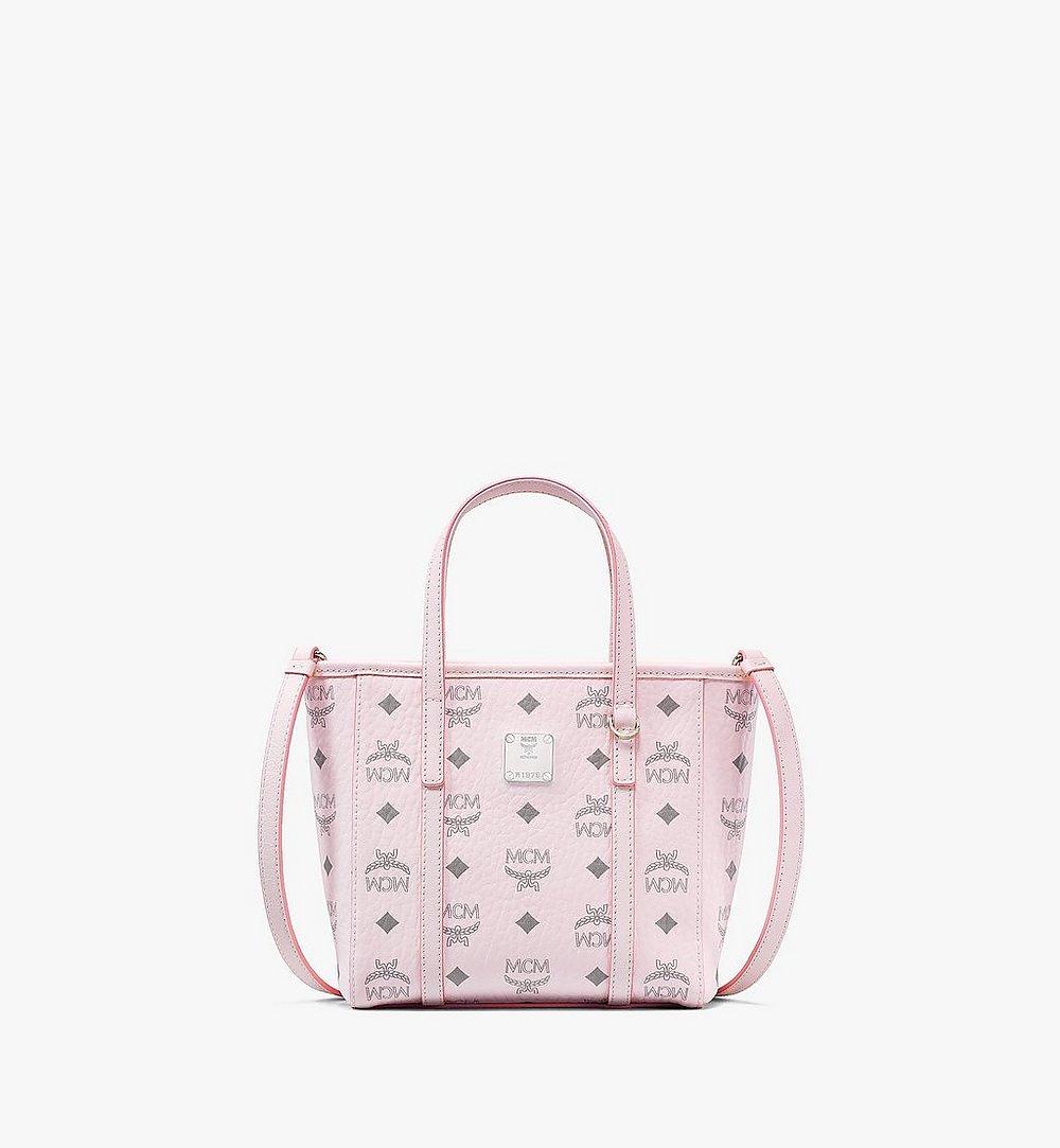 MCM Toni Shopper in Visetos Pink MWPAATN04QH001 Alternate View 1