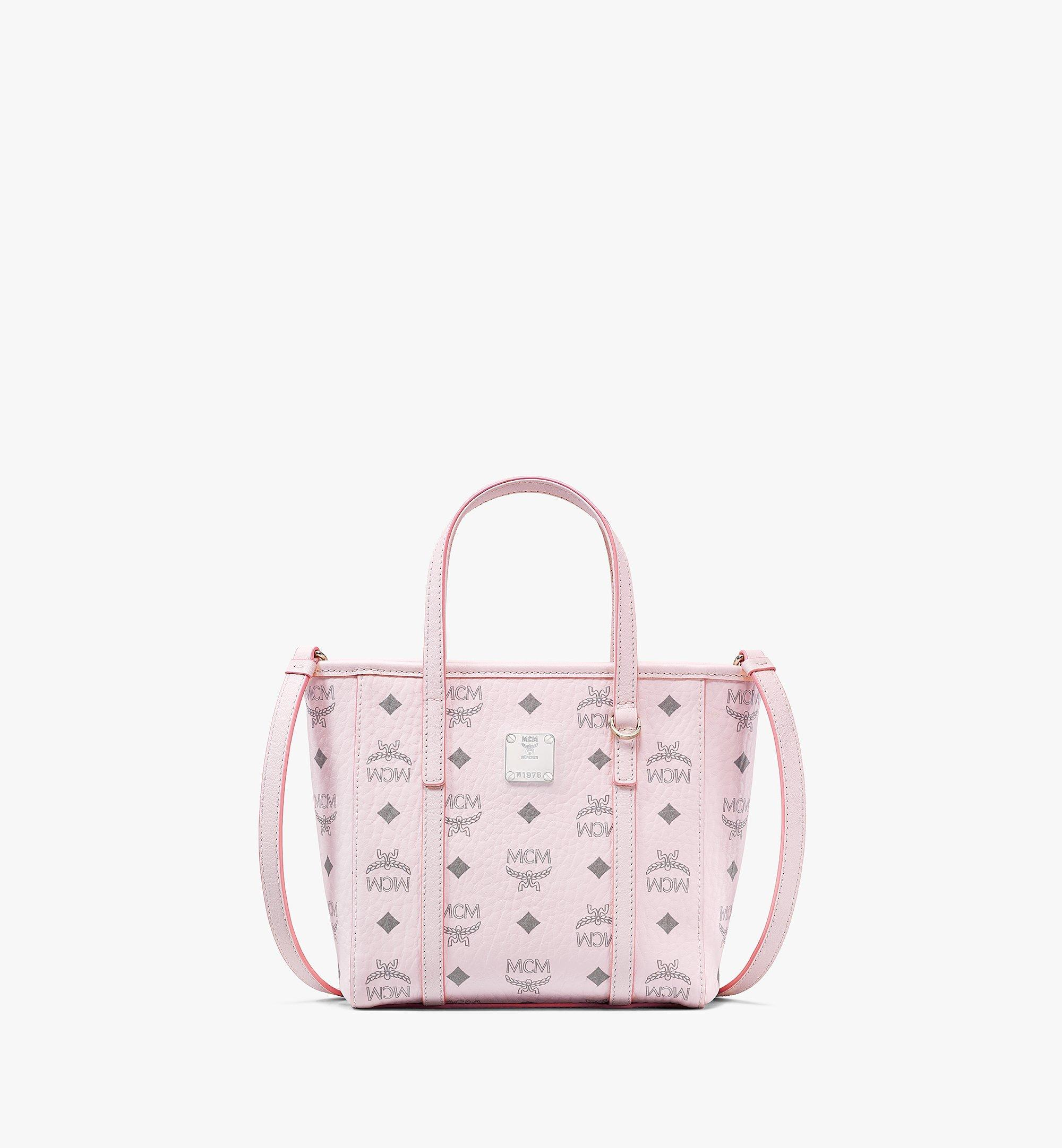 MCM Toni Shopper in Visetos Pink MWPAATN04QH001 Alternate View 1