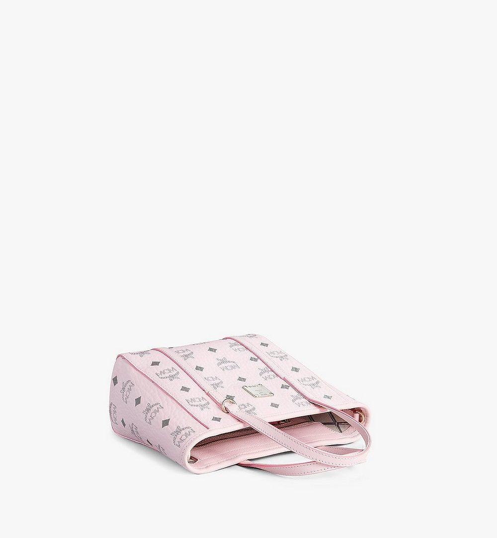 MCM Toni Shopper in Visetos Pink MWPAATN04QH001 Alternate View 2