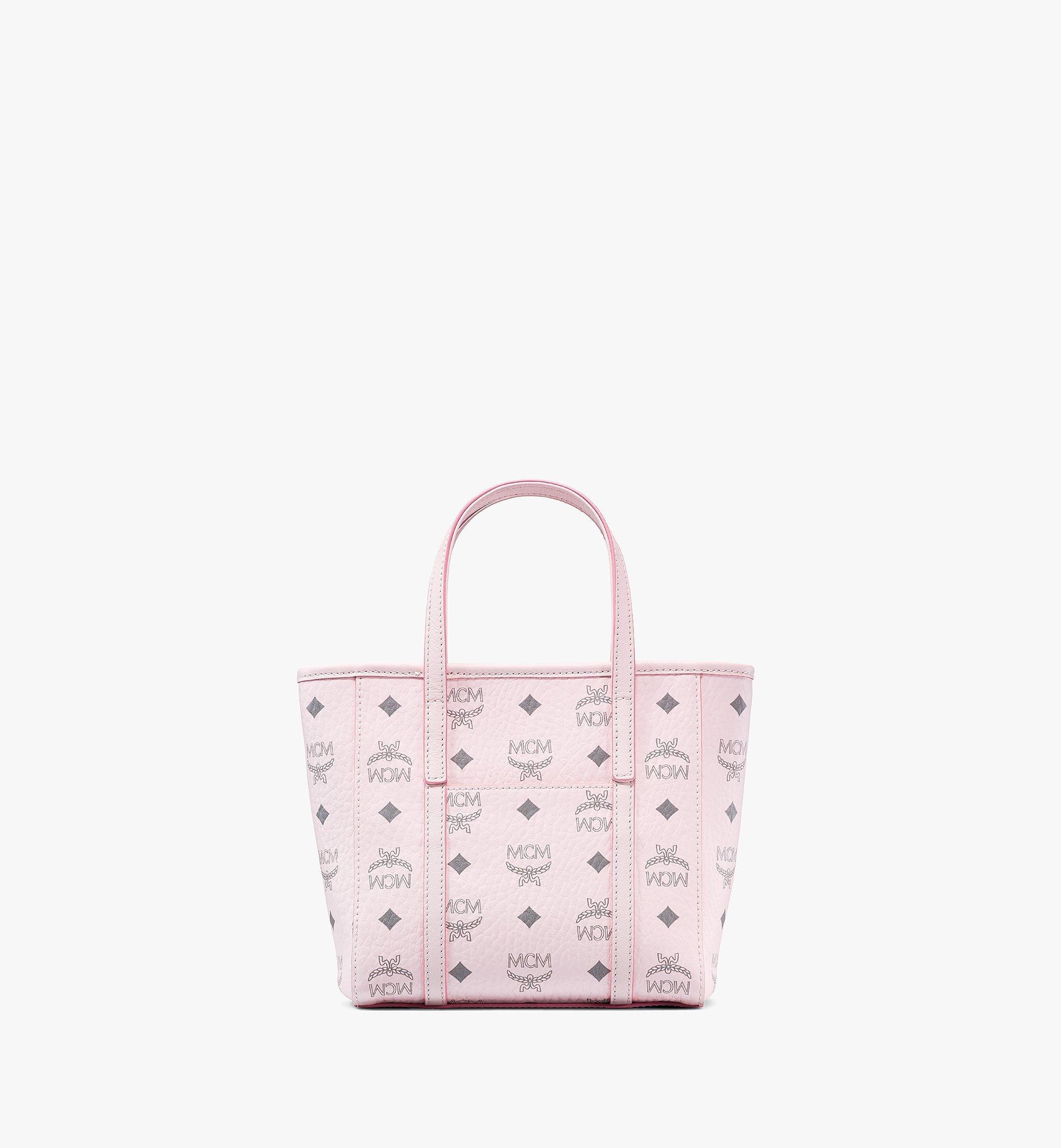 MCM Visetos 系列的 Toni 購物袋 Pink MWPAATN04QH001 更多視圖 3