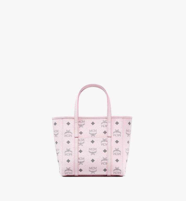 MCM Toni Shopper in Visetos Pink MWPAATN04QH001 Alternate View 4
