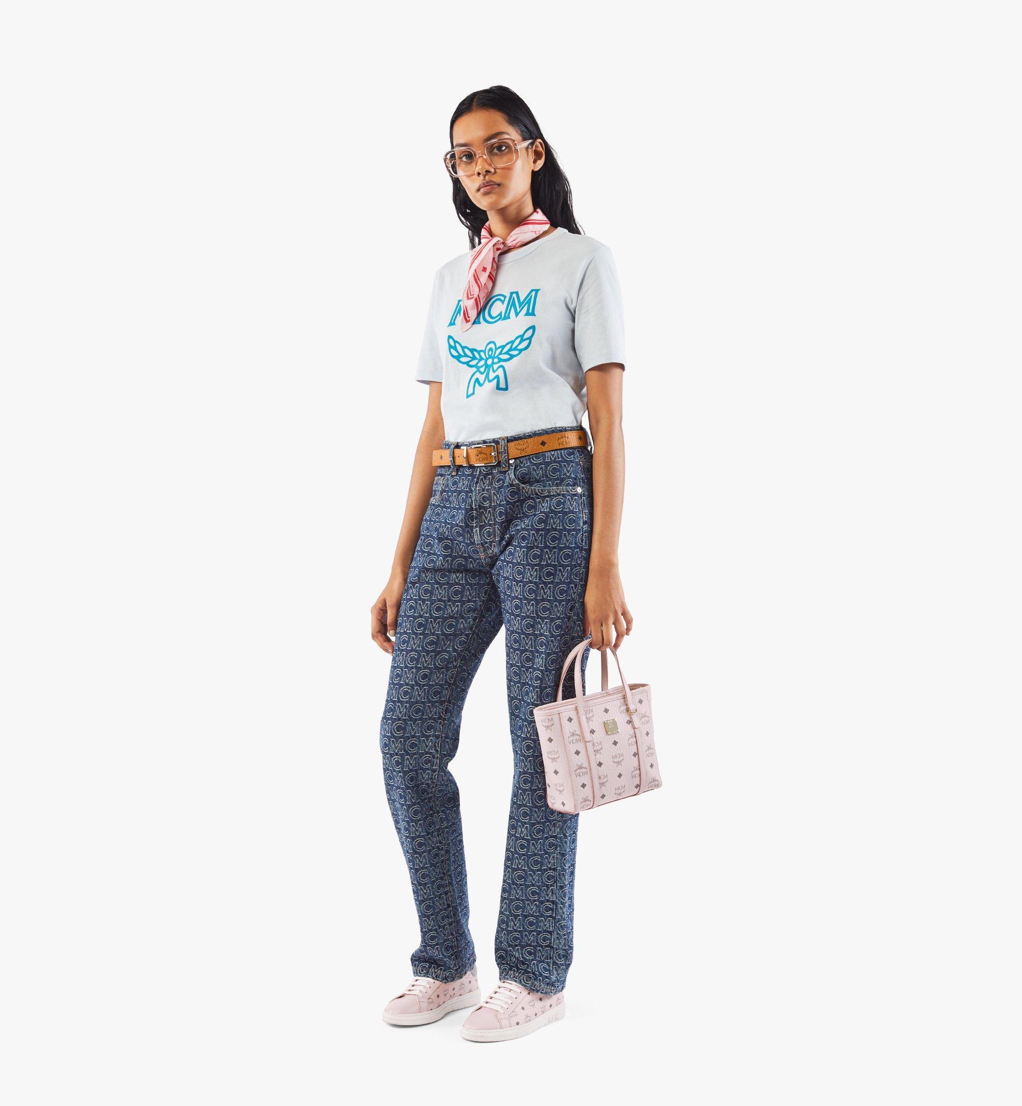 MCM Visetos 系列的 Toni 購物袋 Pink MWPAATN04QH001 更多視圖 4