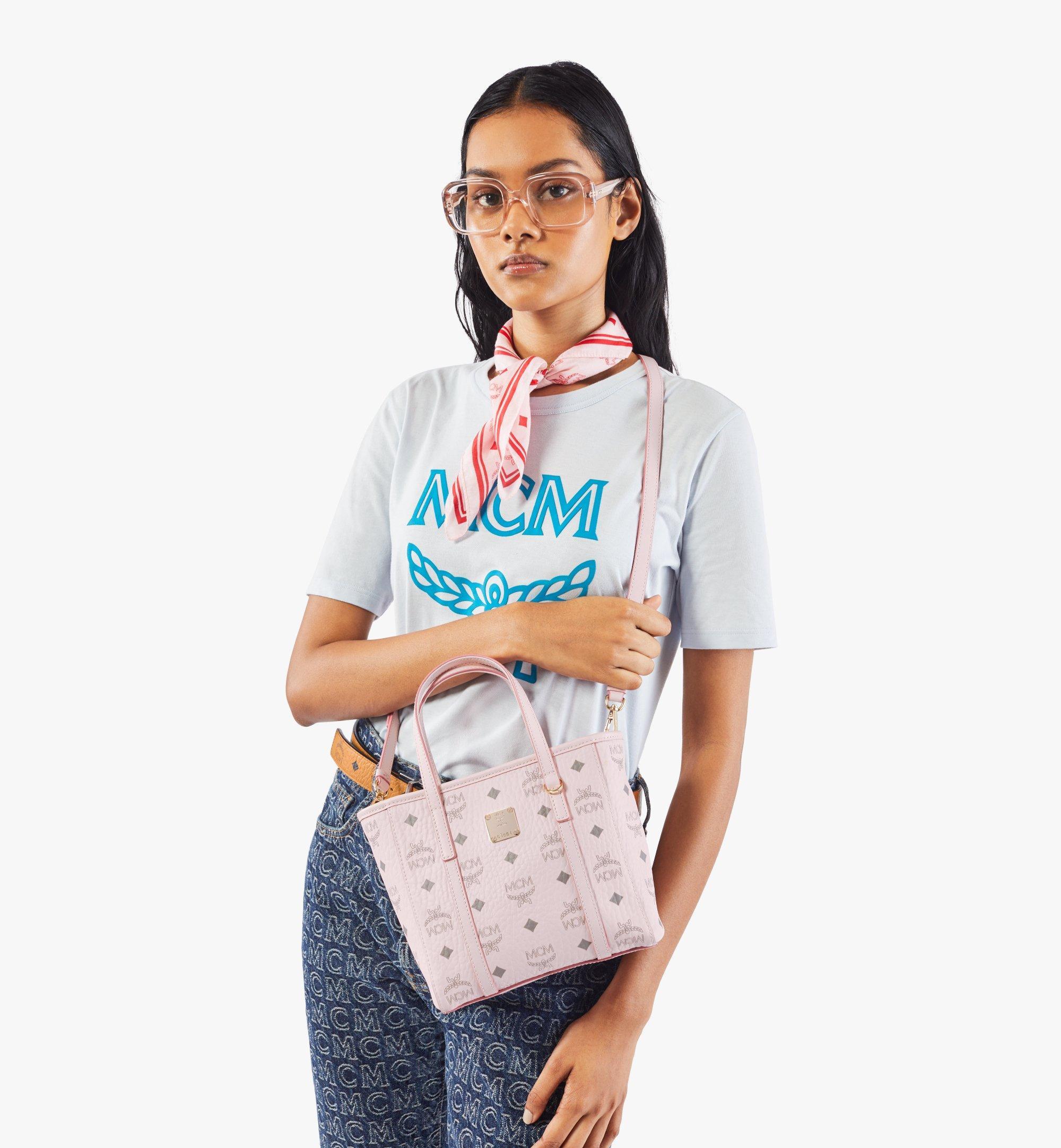 MCM Visetos 系列的 Toni 購物袋 Pink MWPAATN04QH001 更多視圖 2