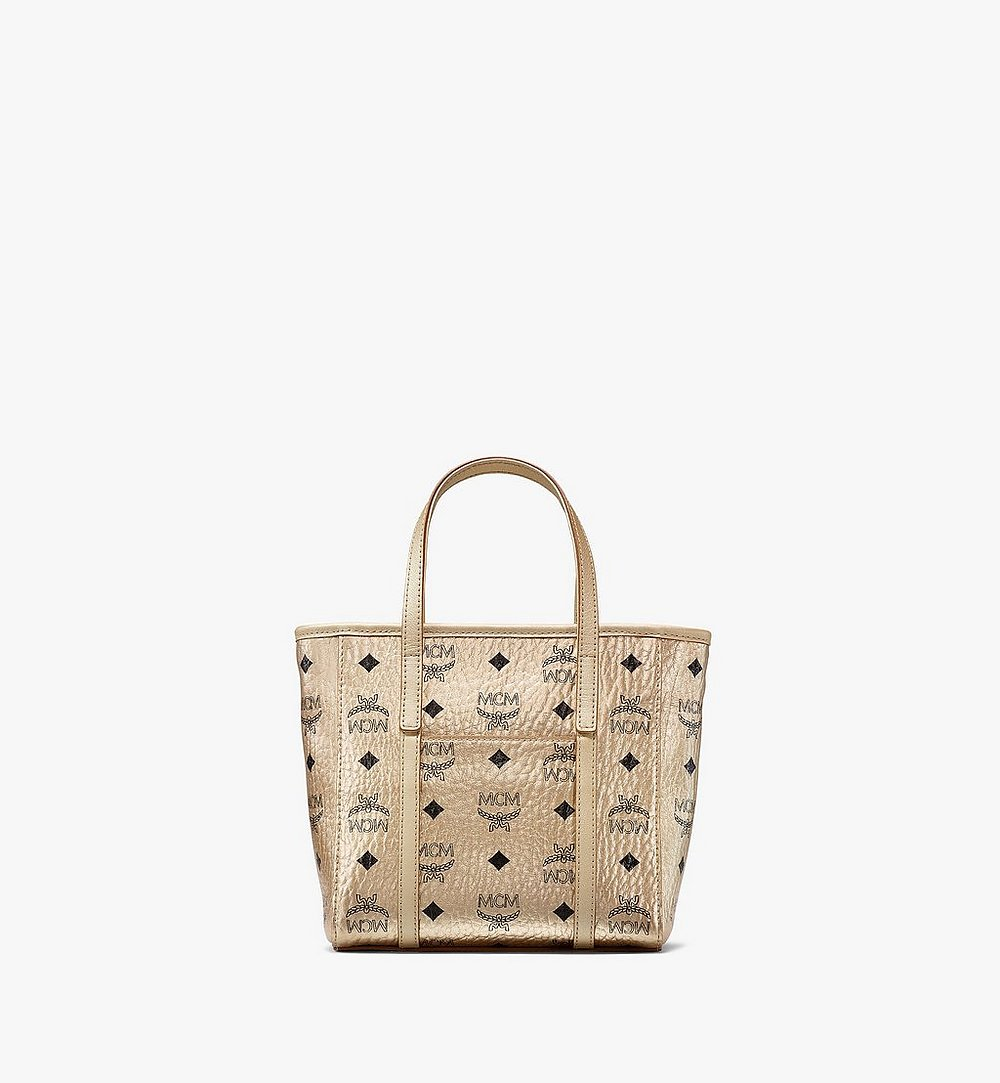 MCM Toni Shopper in Visetos Gold MWPAATN05T1001 Alternate View 3
