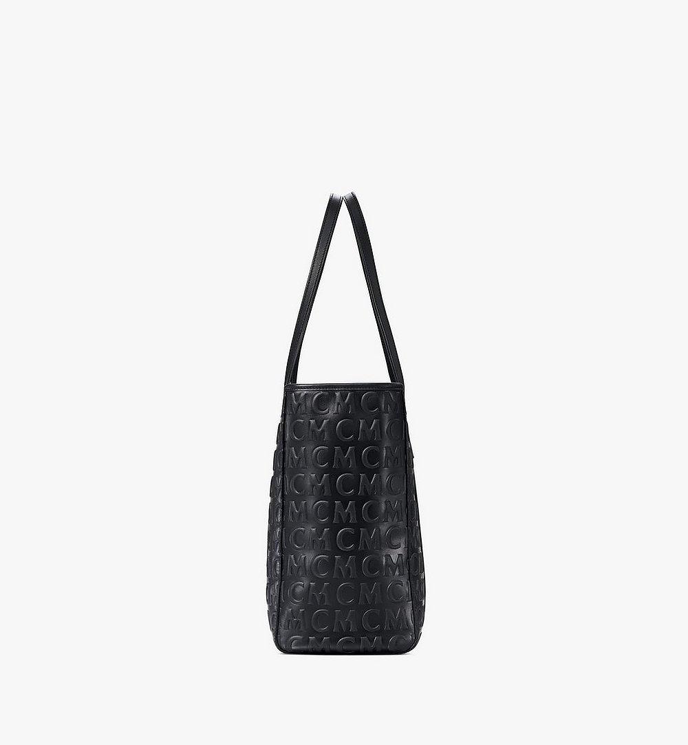 MCM Toni Shopper in MCM Monogram Leather Black MWPAATN06BK001 Alternate View 1