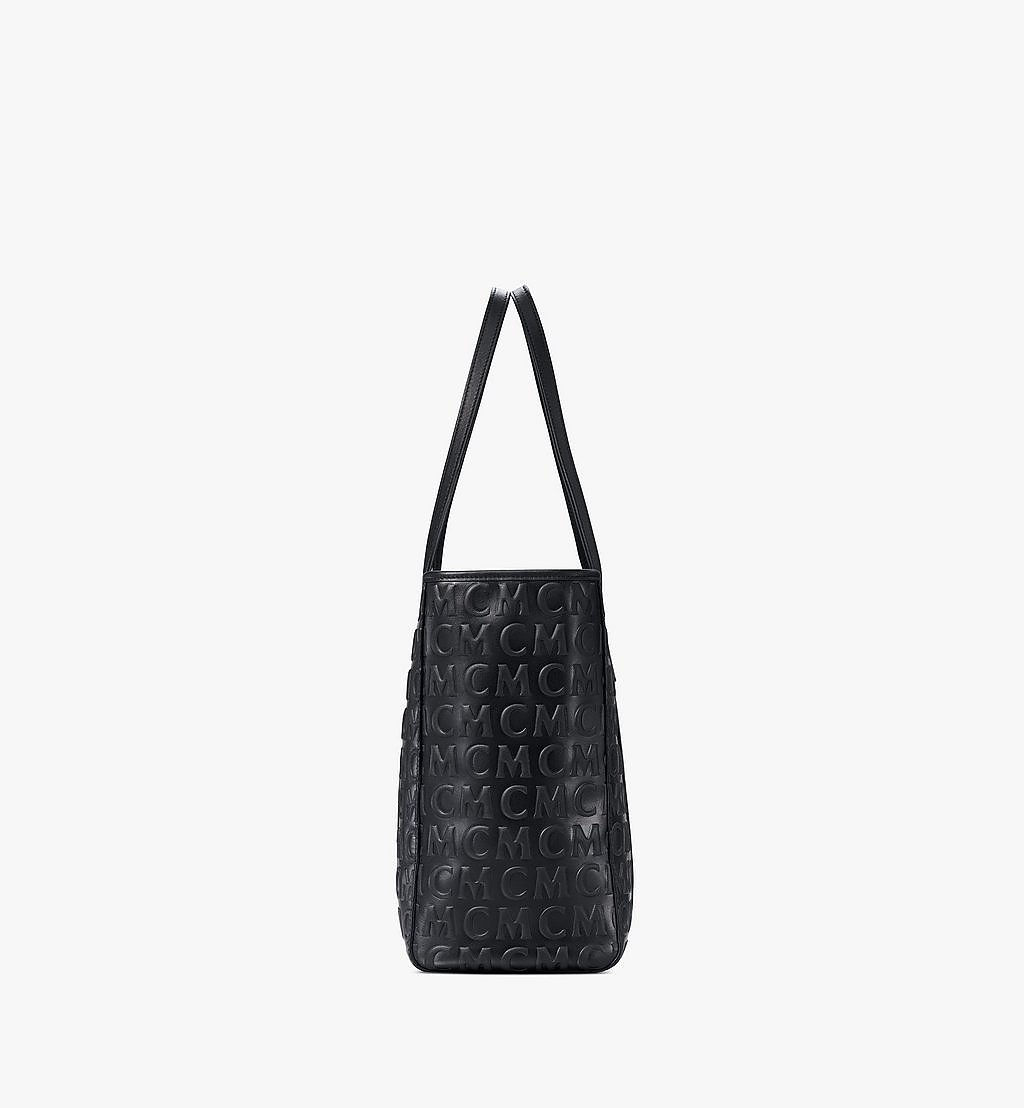 MCM Toni Shopper in MCM Monogram Leather Black MWPAATN06BK001 Alternate View 1