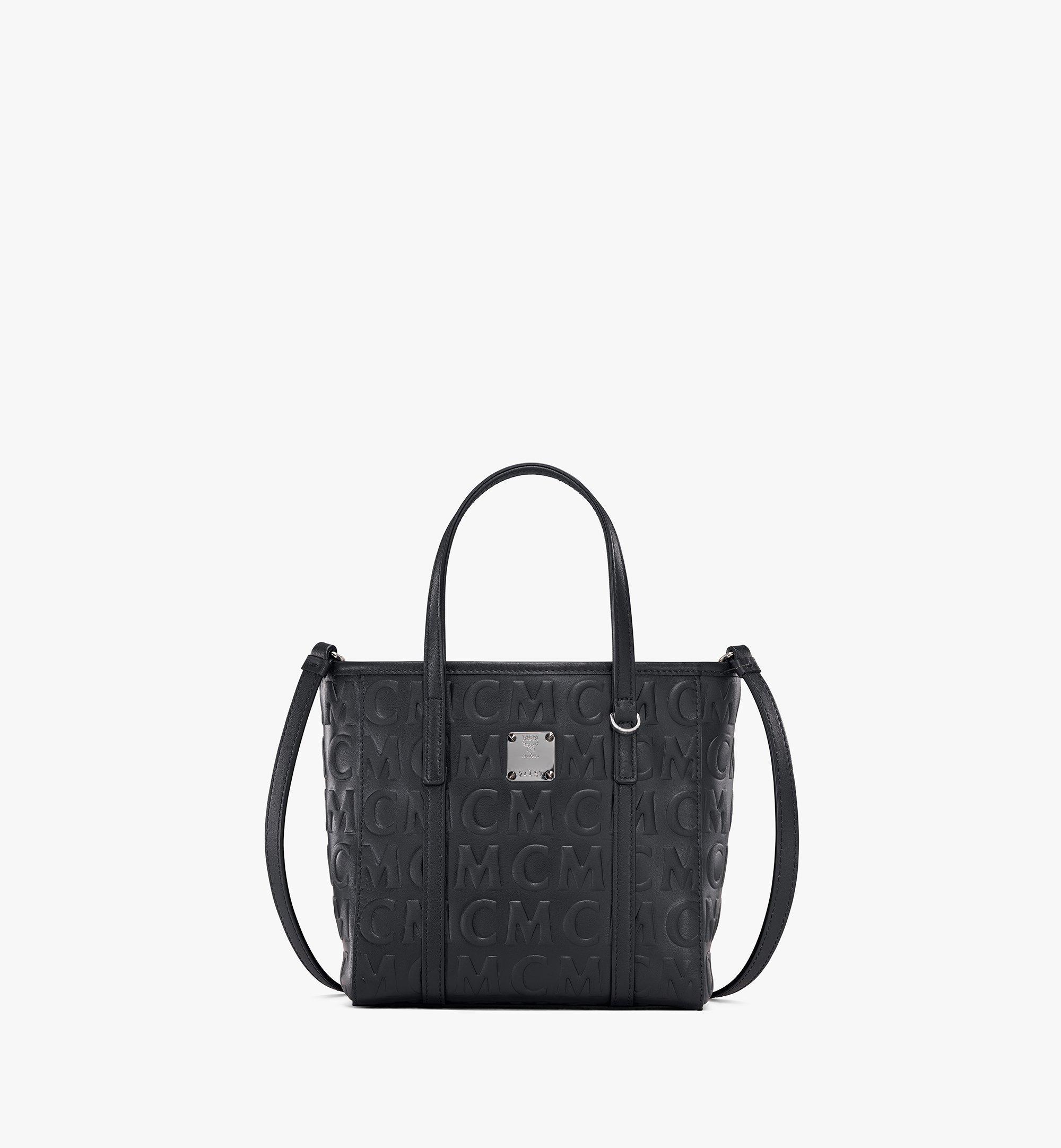 MCM Toni Shopper aus Leder mit MCM-Monogramm Black MWPAATN07BK001 Noch mehr sehen 1