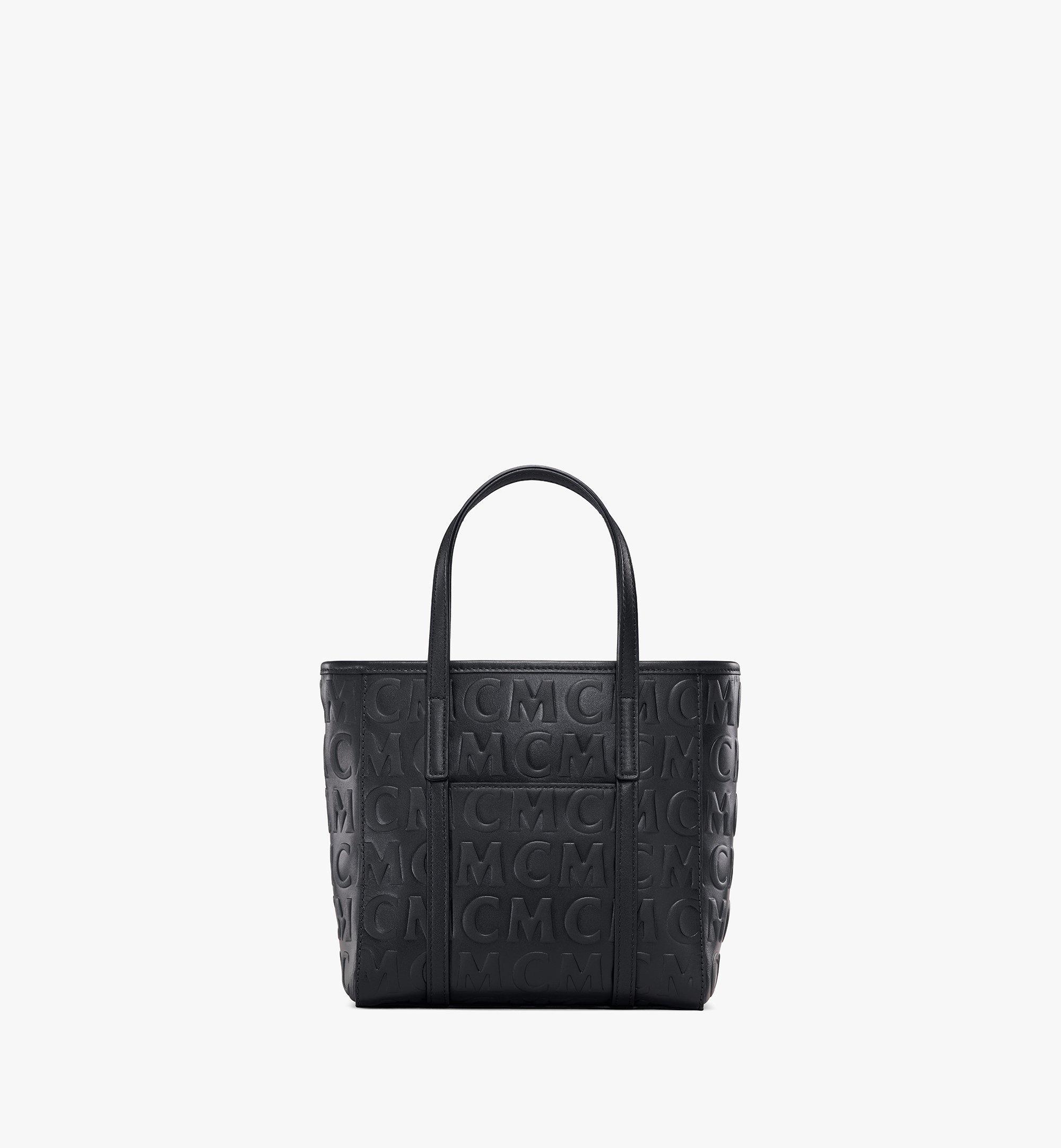 MCM Toni Shopper aus Leder mit MCM-Monogramm Black MWPAATN07BK001 Noch mehr sehen 3