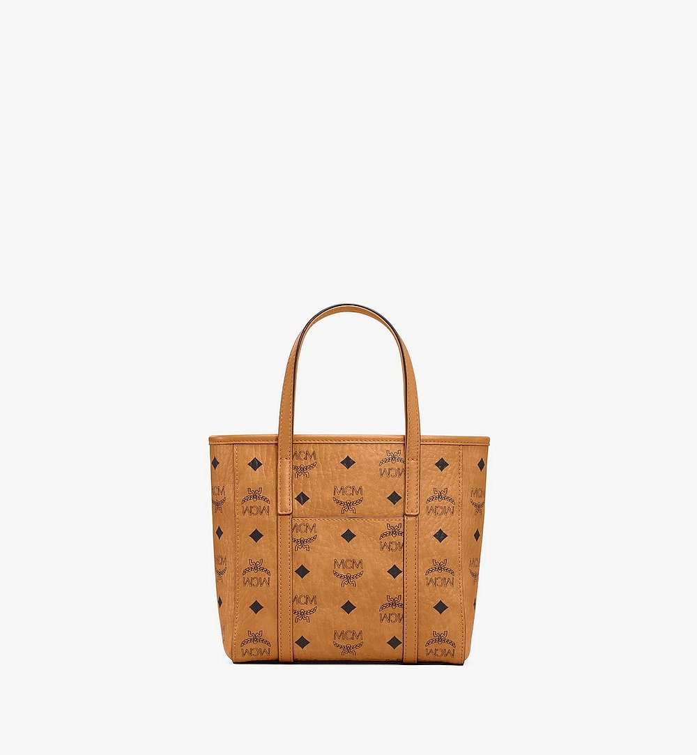MCM Toni Shopper in Berlin Bear Visetos Cognac MWPAATN10CO001 Alternate View 3