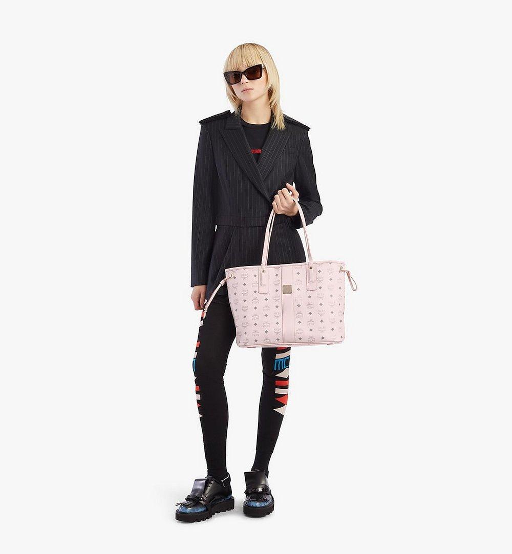 MCM Reversible Liz Shopper in Visetos Pink MWPAAVI02QH001 Alternate View 3