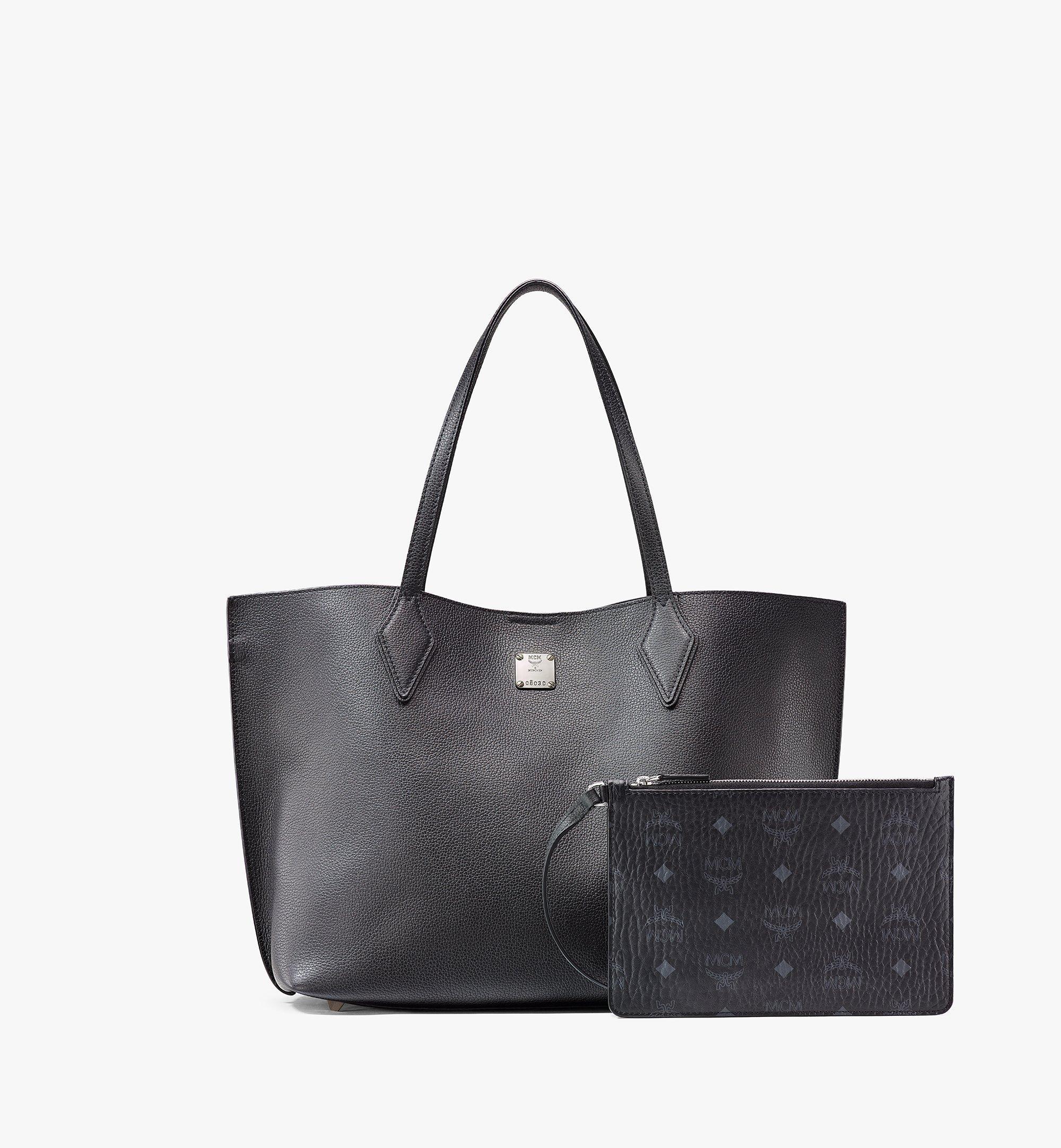 MCM Yris Tani 皮革購物袋 Black MWPAAYS01BK001 更多視圖 4