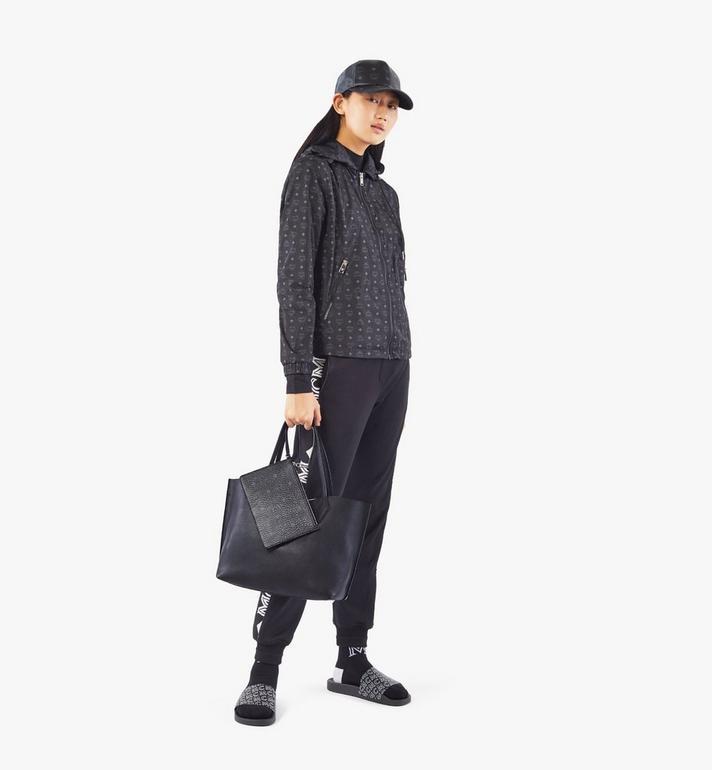 MCM Yris Shopper in Tani Leather Black MWPAAYS01BK001 Alternate View 7