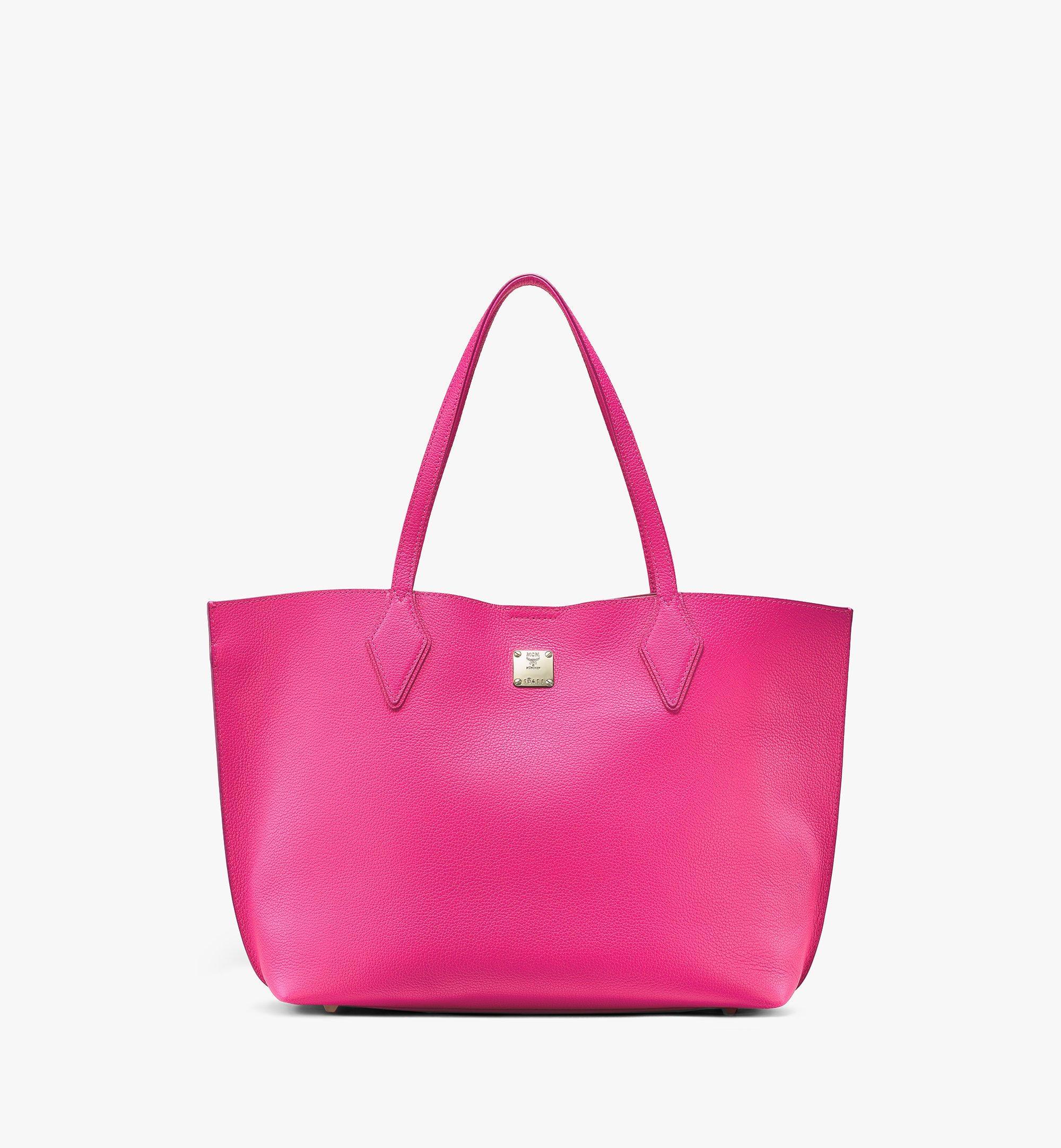 MCM Yris Shopper Pink MWPAAYS01QJ001 Alternate View 1