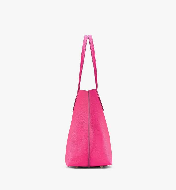 MCM Yris Shopper in Tani Leather Pink MWPAAYS01QJ001 Alternate View 2