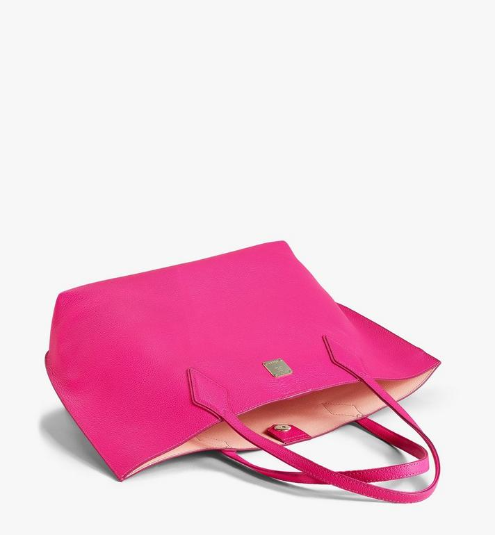 MCM Yris Shopper in Tani Leather Pink MWPAAYS01QJ001 Alternate View 3