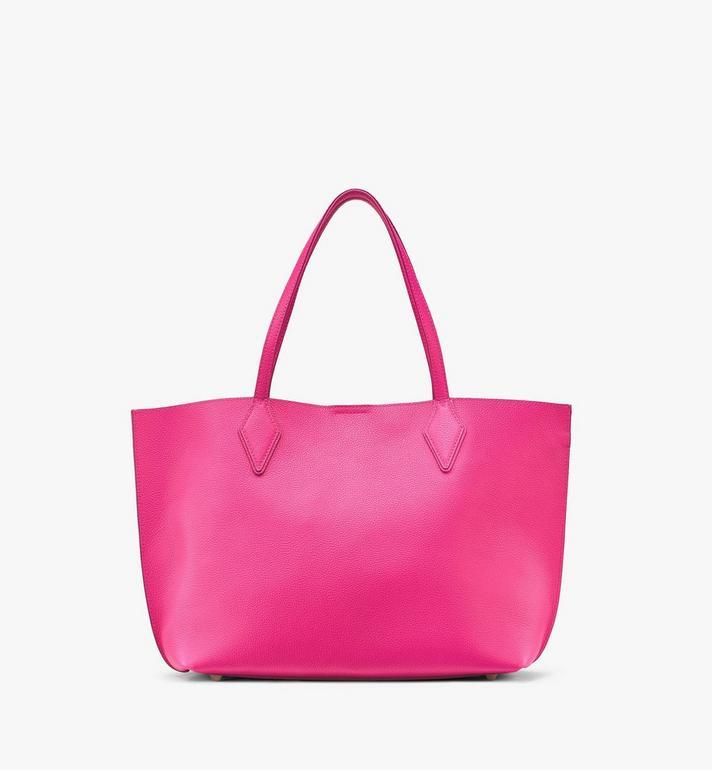 MCM Yris Shopper Pink MWPAAYS01QJ001 Alternate View 4