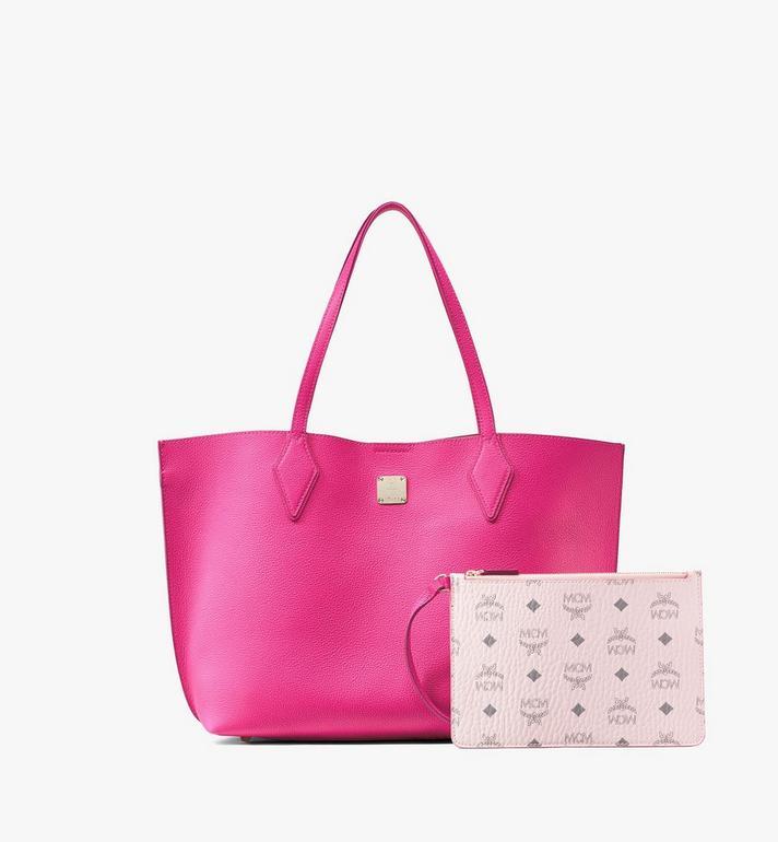 MCM Yris Shopper Pink MWPAAYS01QJ001 Alternate View 5