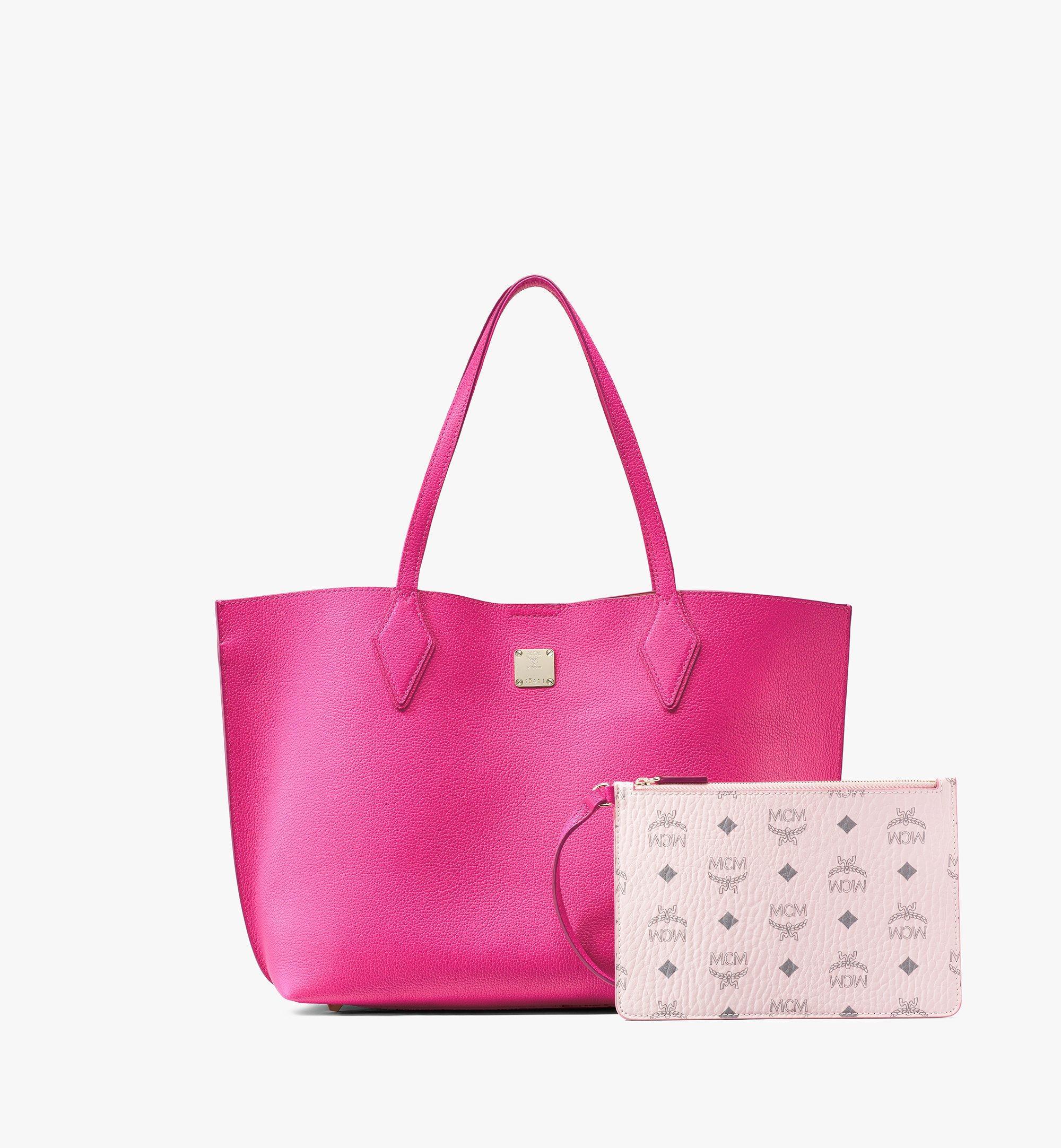 MCM Yris Shopper Pink MWPAAYS01QJ001 Alternate View 6