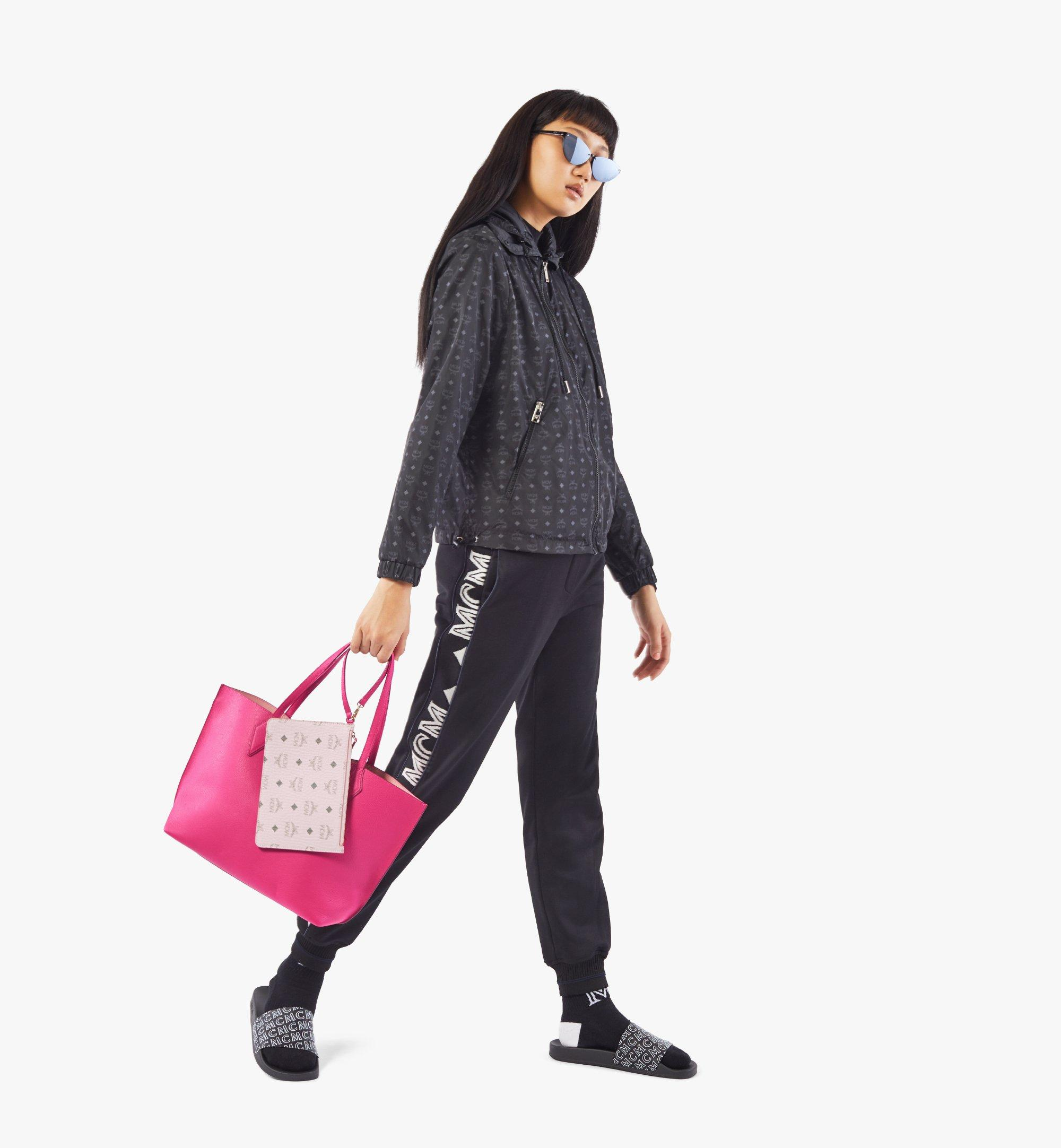 MCM Yris Shopper Pink MWPAAYS01QJ001 Alternate View 7