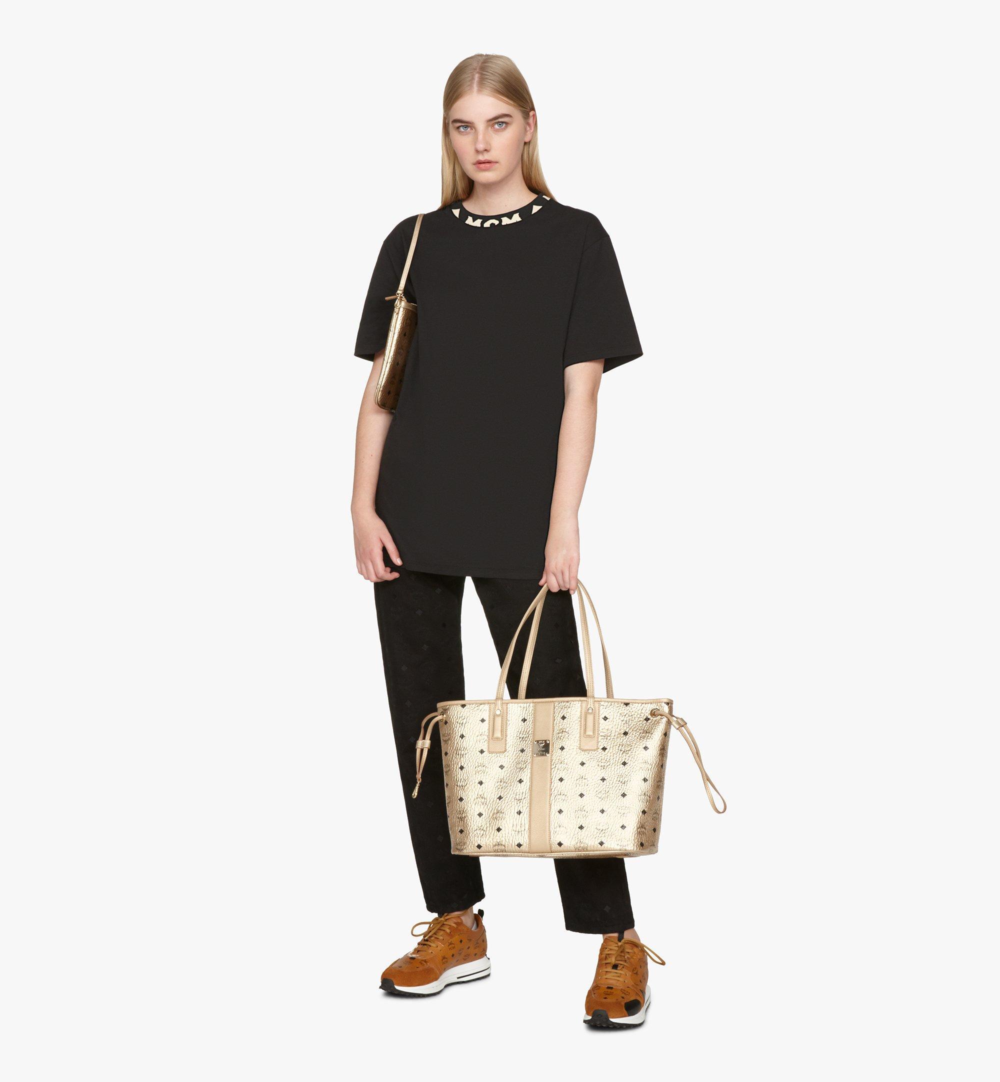 Medium Liz Reversible Shopper in Visetos Berlin Gold | MCM® DE