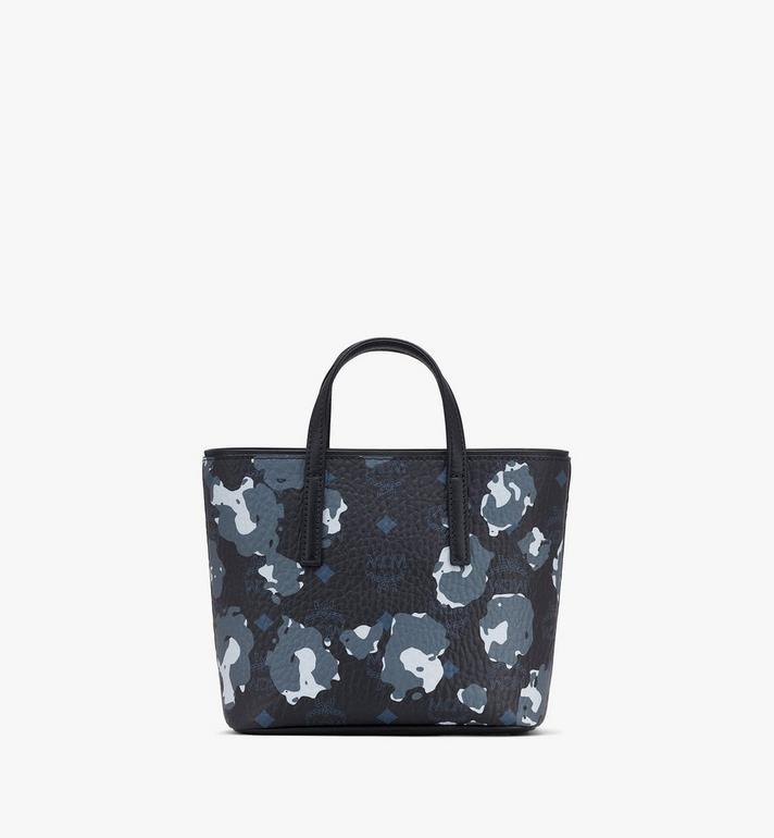MCM Mini Anya Shopper in Floral Leopard Black MWPASVI04B1001 Alternate View 3