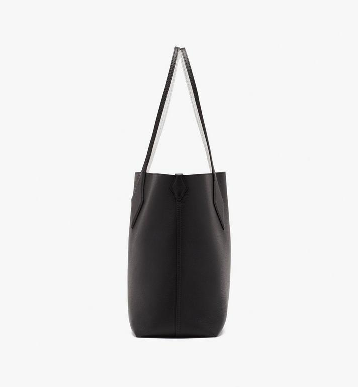 MCM Reversible Shopper in Tani Leather Black MWPASXS01BK001 Alternate View 4