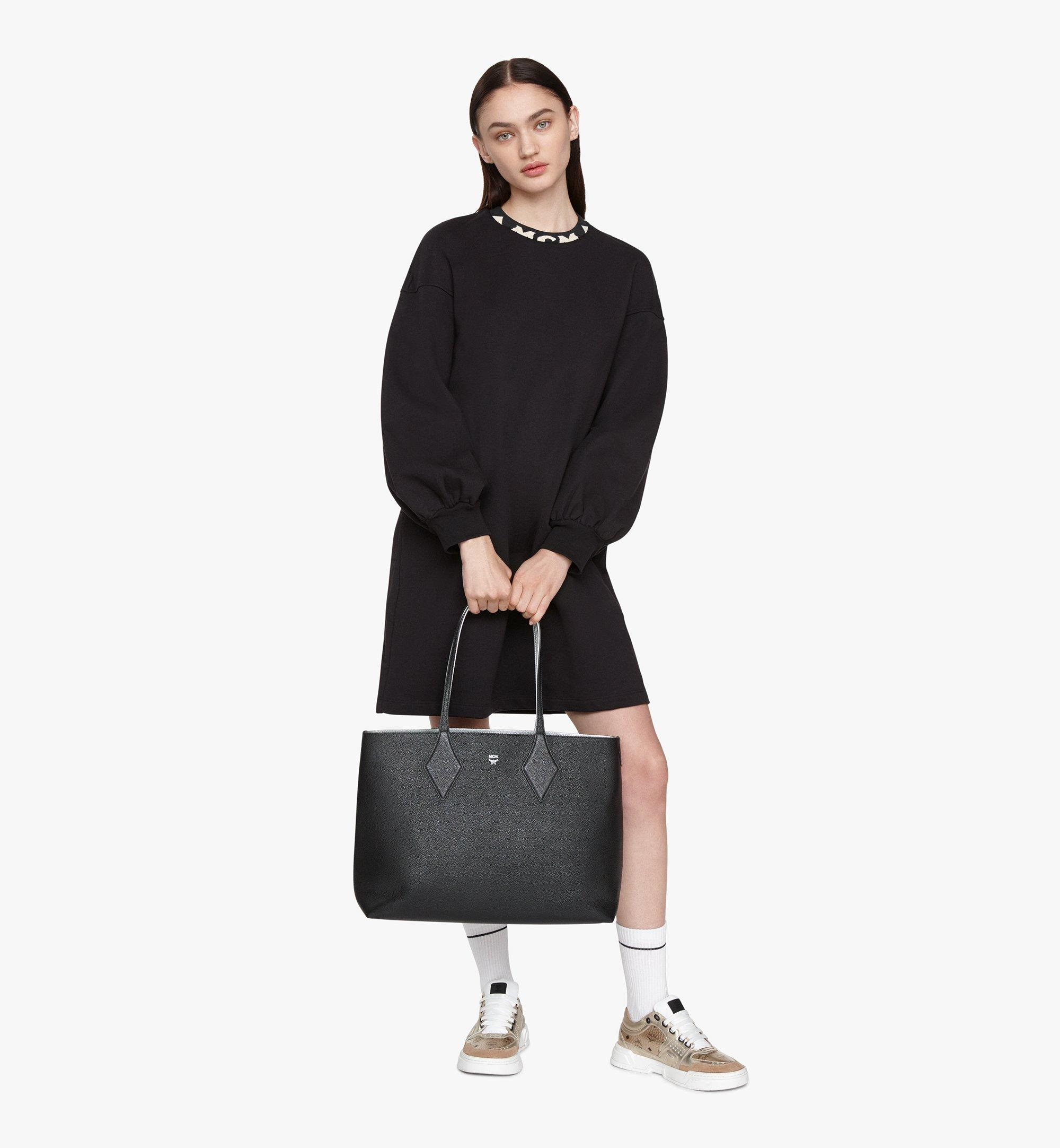 MCM Reversible Shopper in Tani Leather Black MWPASXS01BK001 Alternate View 2