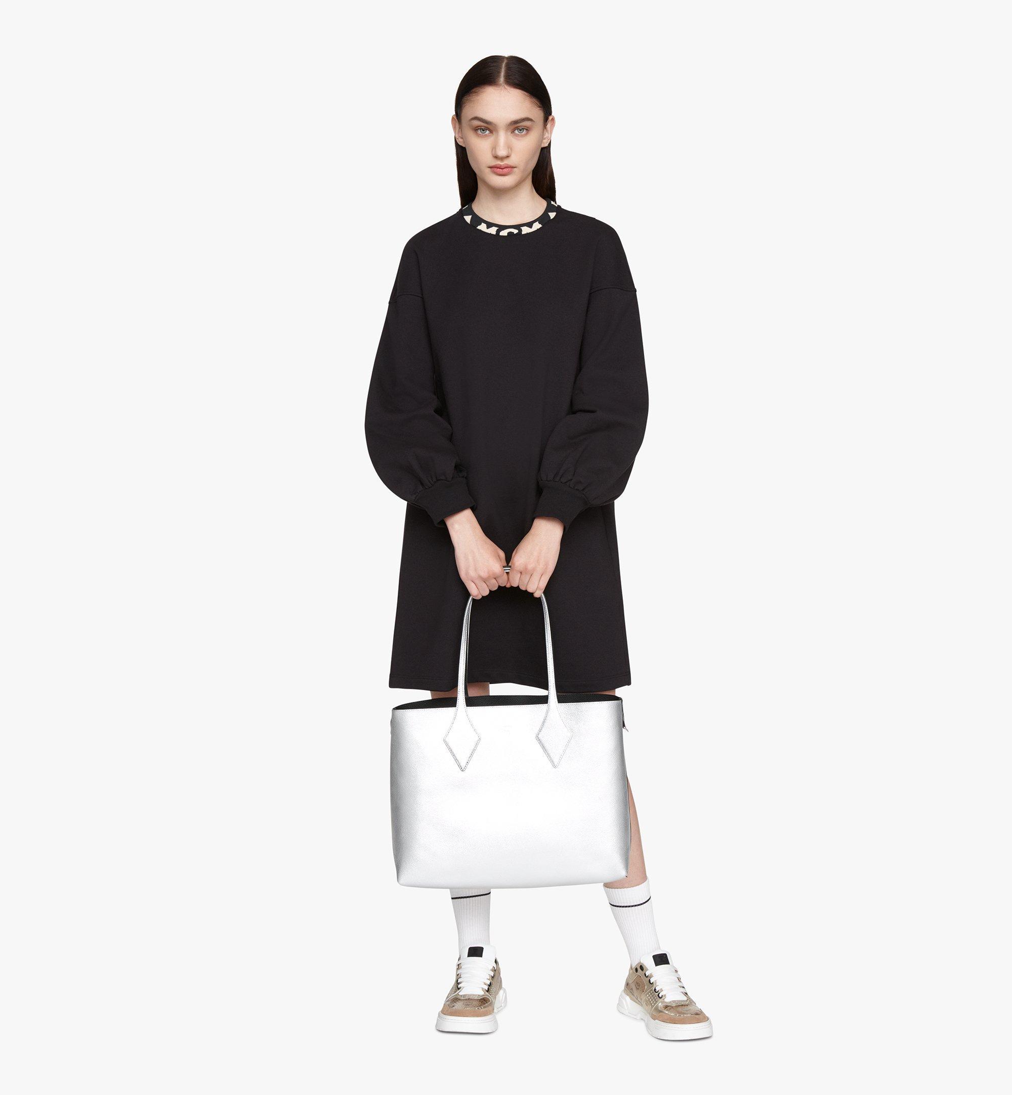 MCM Reversible Shopper in Tani Leather Black MWPASXS01BK001 Alternate View 6