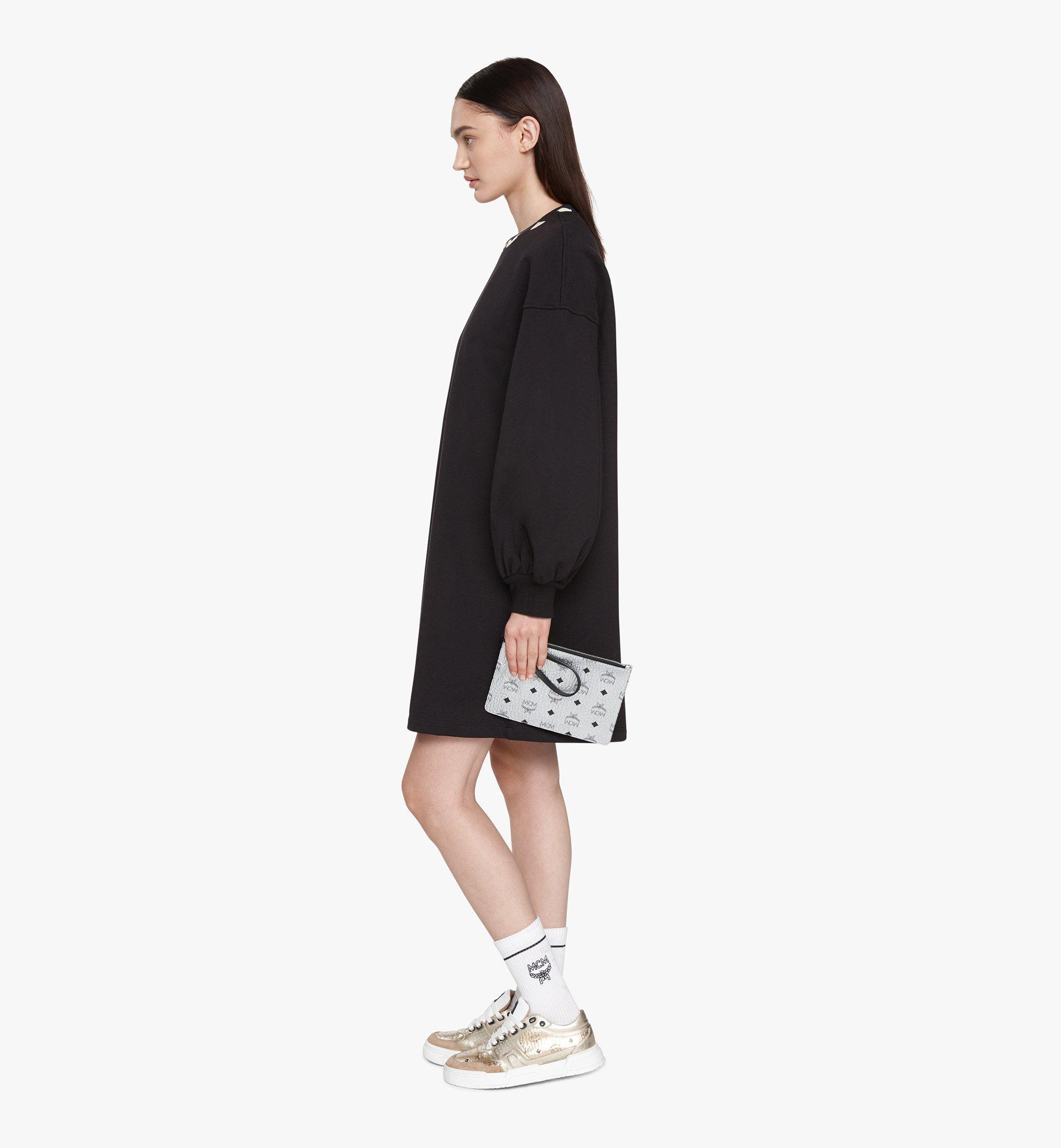 MCM Reversible Shopper in Tani Leather Black MWPASXS01BK001 Alternate View 7