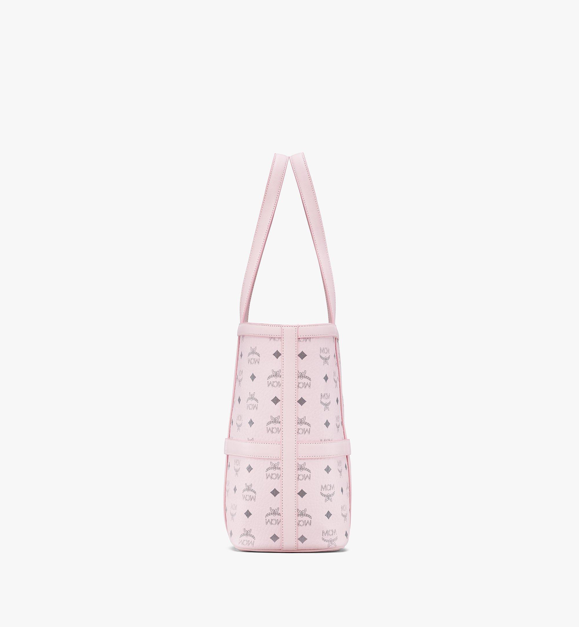 MCM Delmy Shopper in Visetos Pink MWPBSER01QH001 Alternate View 1