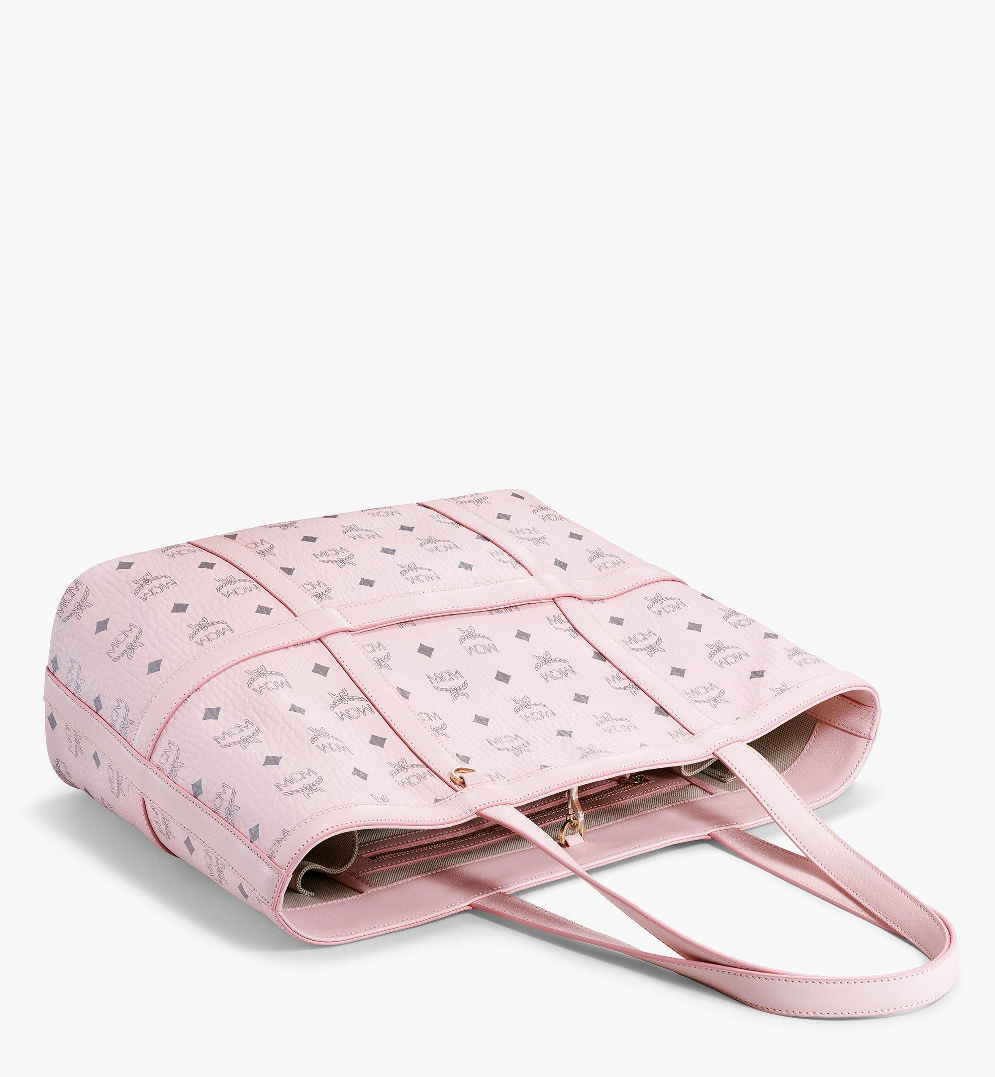 MCM Delmy Shopper in Visetos Pink MWPBSER01QH001 Alternate View 2
