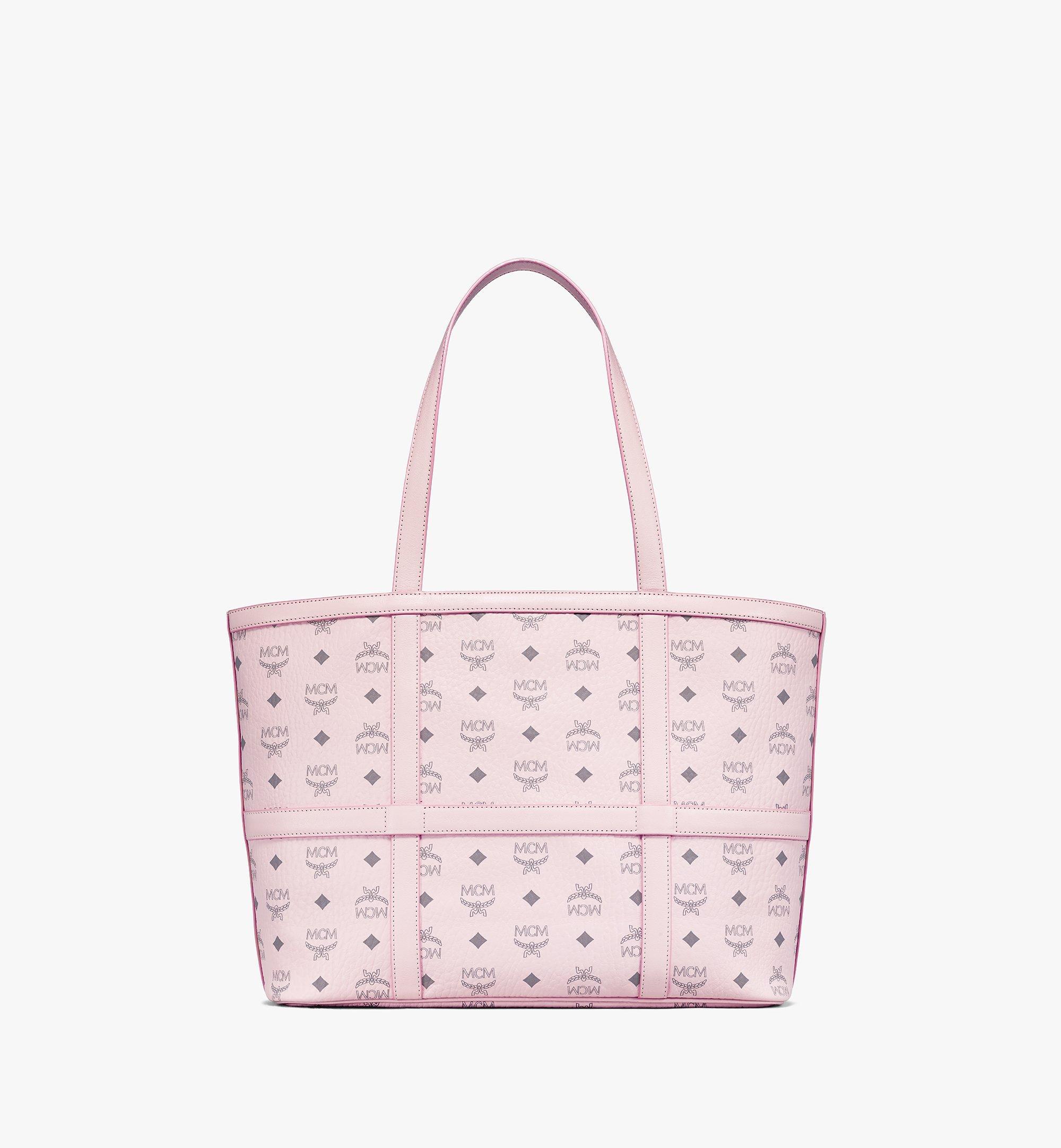 MCM Delmy Shopper in Visetos Pink MWPBSER01QH001 Alternate View 3