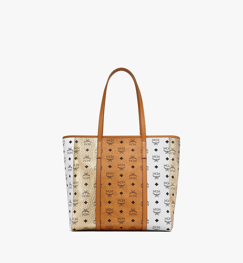 MCM Toni Shopper in Visetos Mix Cognac MWPBSTN01CO001 Alternate View 3