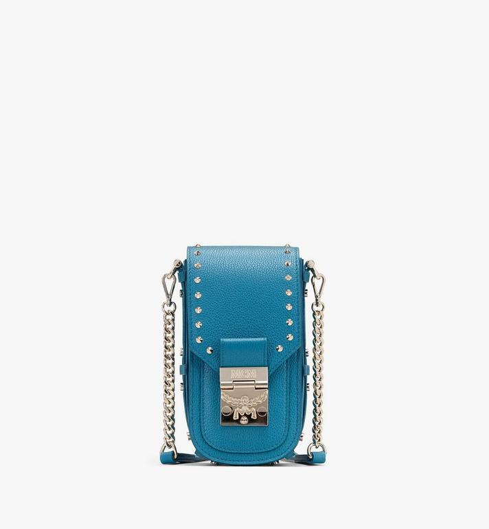 MCM Patricia Crossbody in Studded Park Ave Leather Alternate View