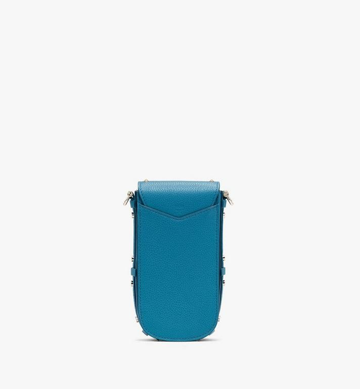 MCM Patricia Crossbody in Studded Park Ave Leather Blue MWR0SPA01JF001 Alternate View 3