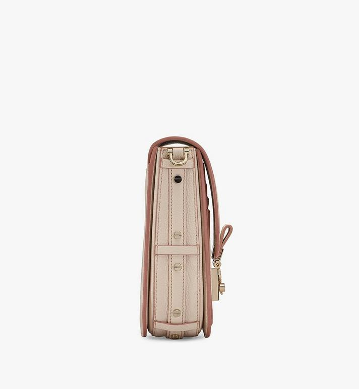 MCM Patricia Crossbody in Park Avenue Leather Pink MWR0SPA02IH001 Alternate View 2