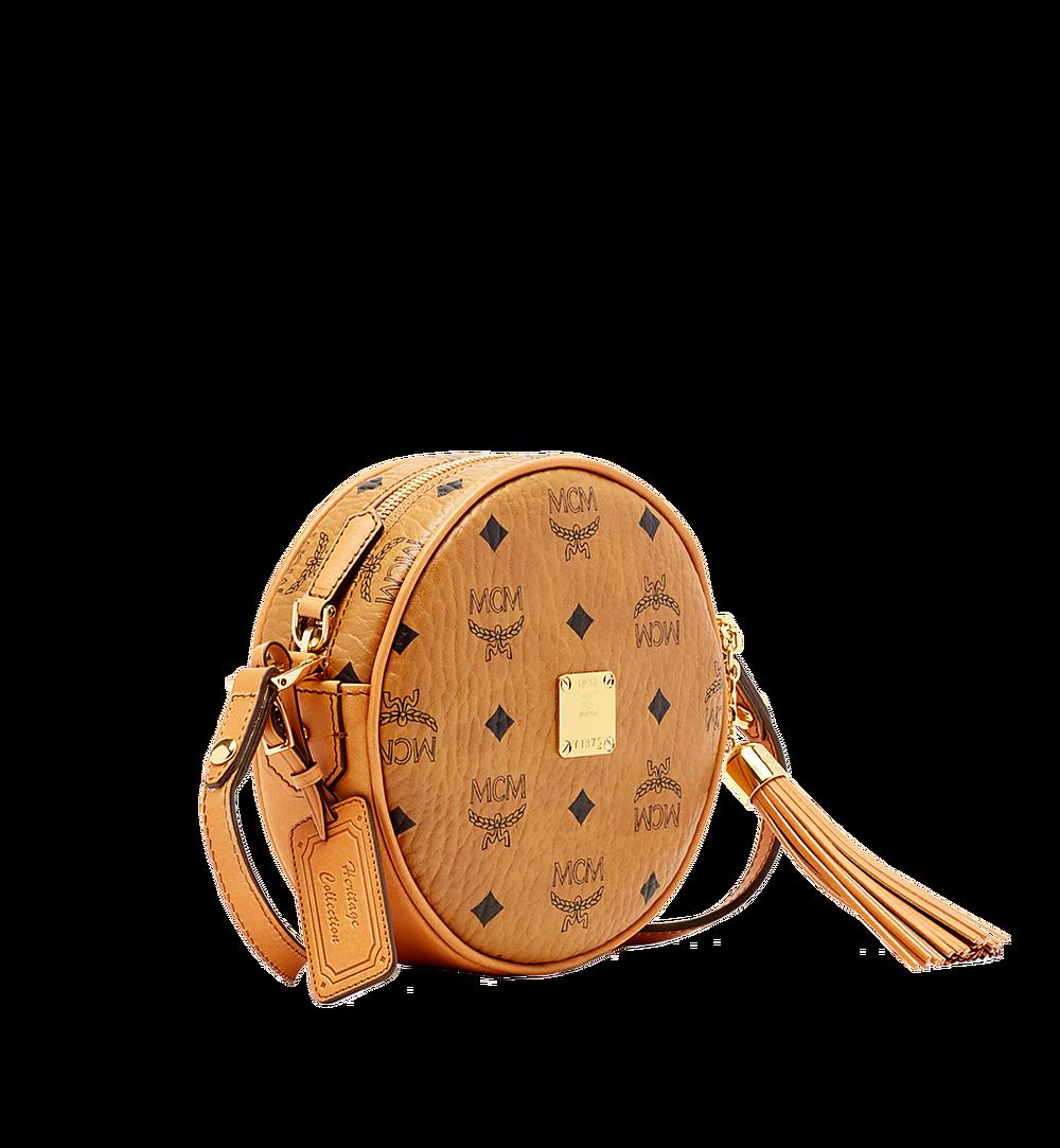 MCM Heritage Tamburin-Tasche in Visetos Cognac MWR6AVI36CO001 Noch mehr sehen 1