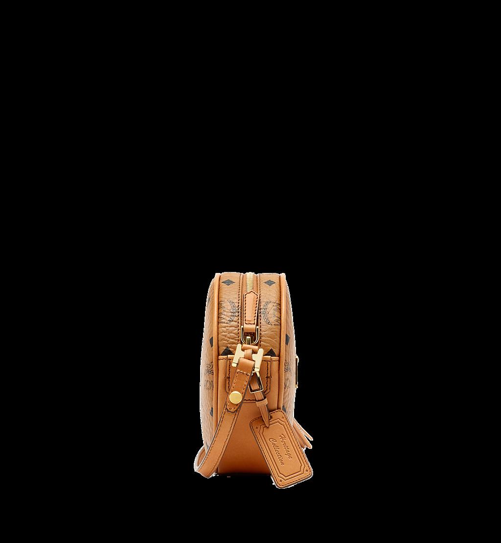 MCM Heritage Tamburin-Tasche in Visetos Cognac MWR6AVI36CO001 Noch mehr sehen 2