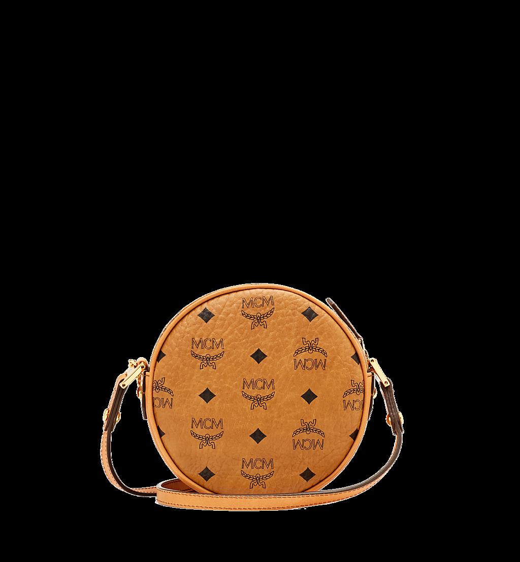 MCM Heritage Tamburin-Tasche in Visetos Cognac MWR6AVI36CO001 Noch mehr sehen 3