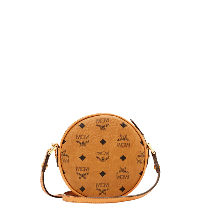 MCM Heritage Tambourine in Visetos Cognac MWR6AVI36CO001 Alternate View 4