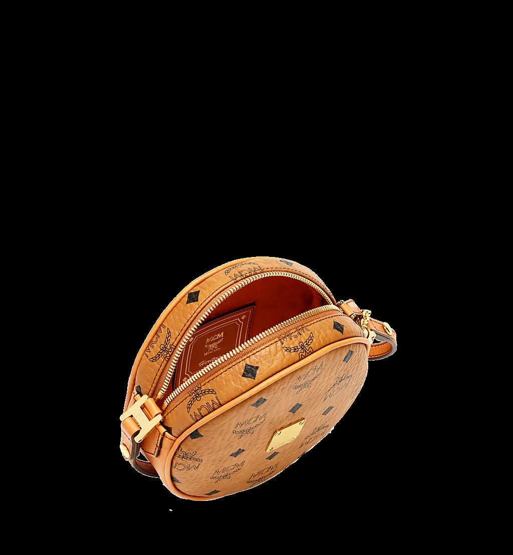 MCM Heritage Tamburin-Tasche in Visetos Cognac MWR6AVI36CO001 Noch mehr sehen 4