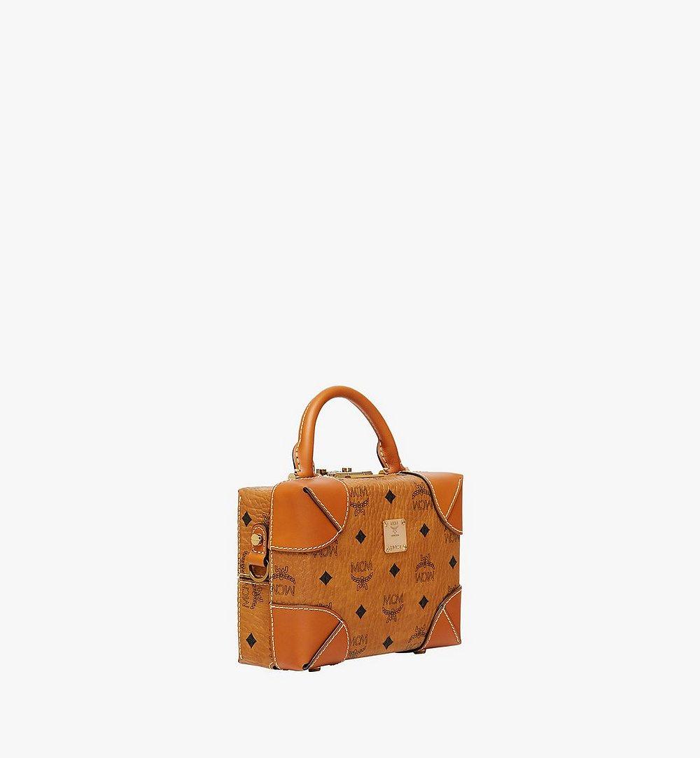 MCM Weiche Berlin Crossbody-Tasche In Visetos Cognac MWR8ABF12CO001 Noch mehr sehen 1