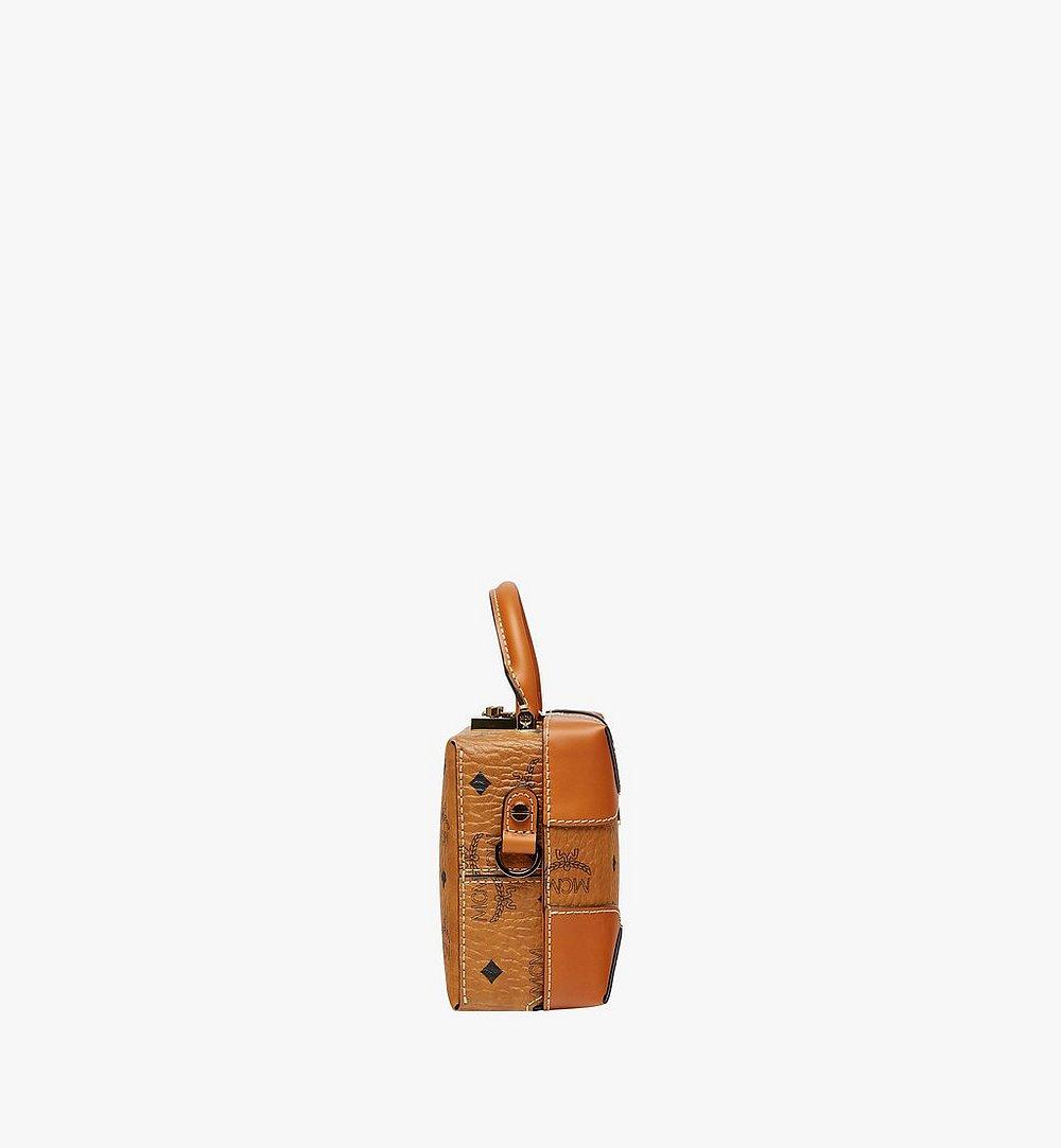 MCM Weiche Berlin Crossbody-Tasche In Visetos Cognac MWR8ABF12CO001 Noch mehr sehen 2