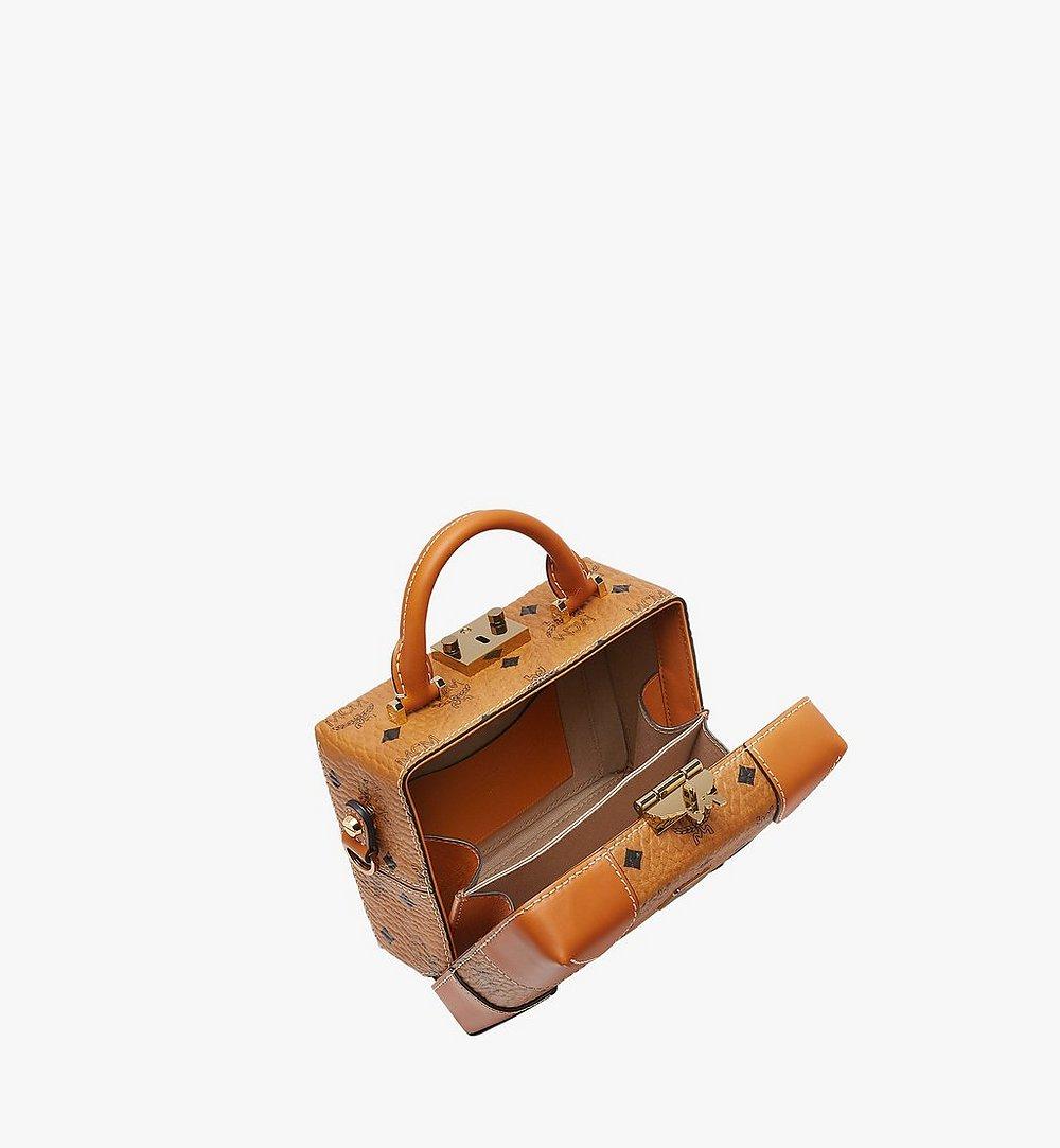 MCM Weiche Berlin Crossbody-Tasche In Visetos Cognac MWR8ABF12CO001 Noch mehr sehen 4