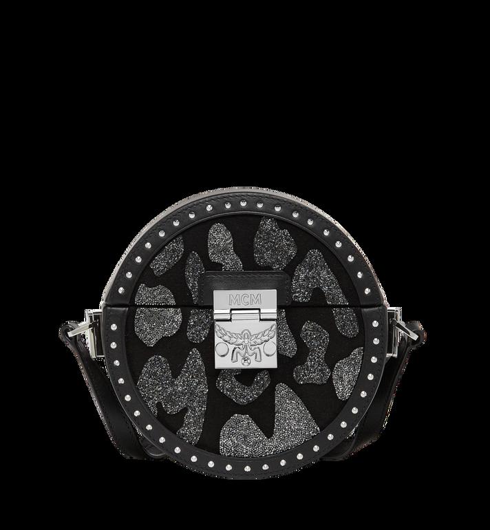 MCM Berlin Tambourine Crossbody in MCM Leopard Crystal MWR8ABN41BK001 AlternateView